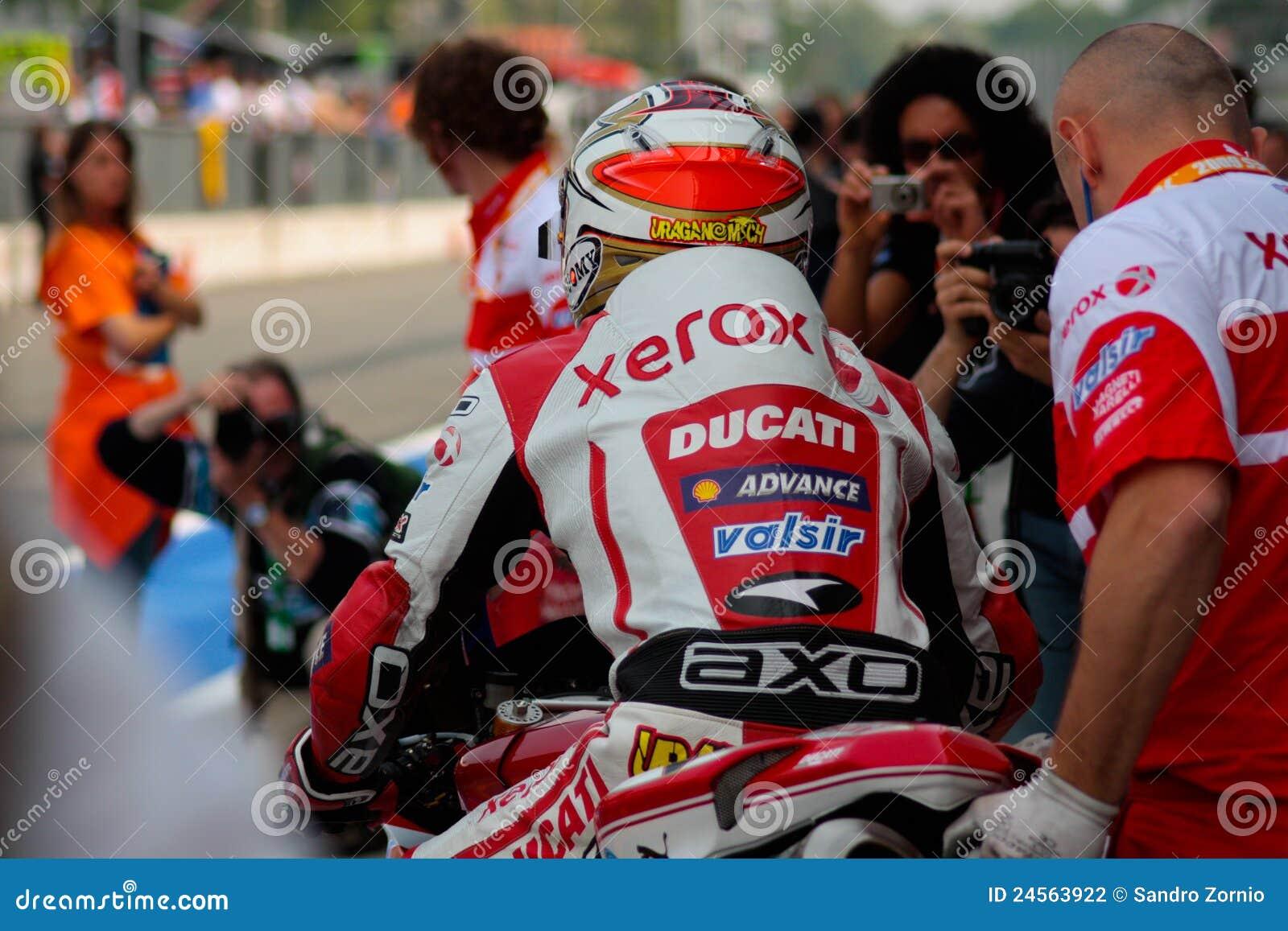 Michel Fabrizio Ducati 1998 Xerox team