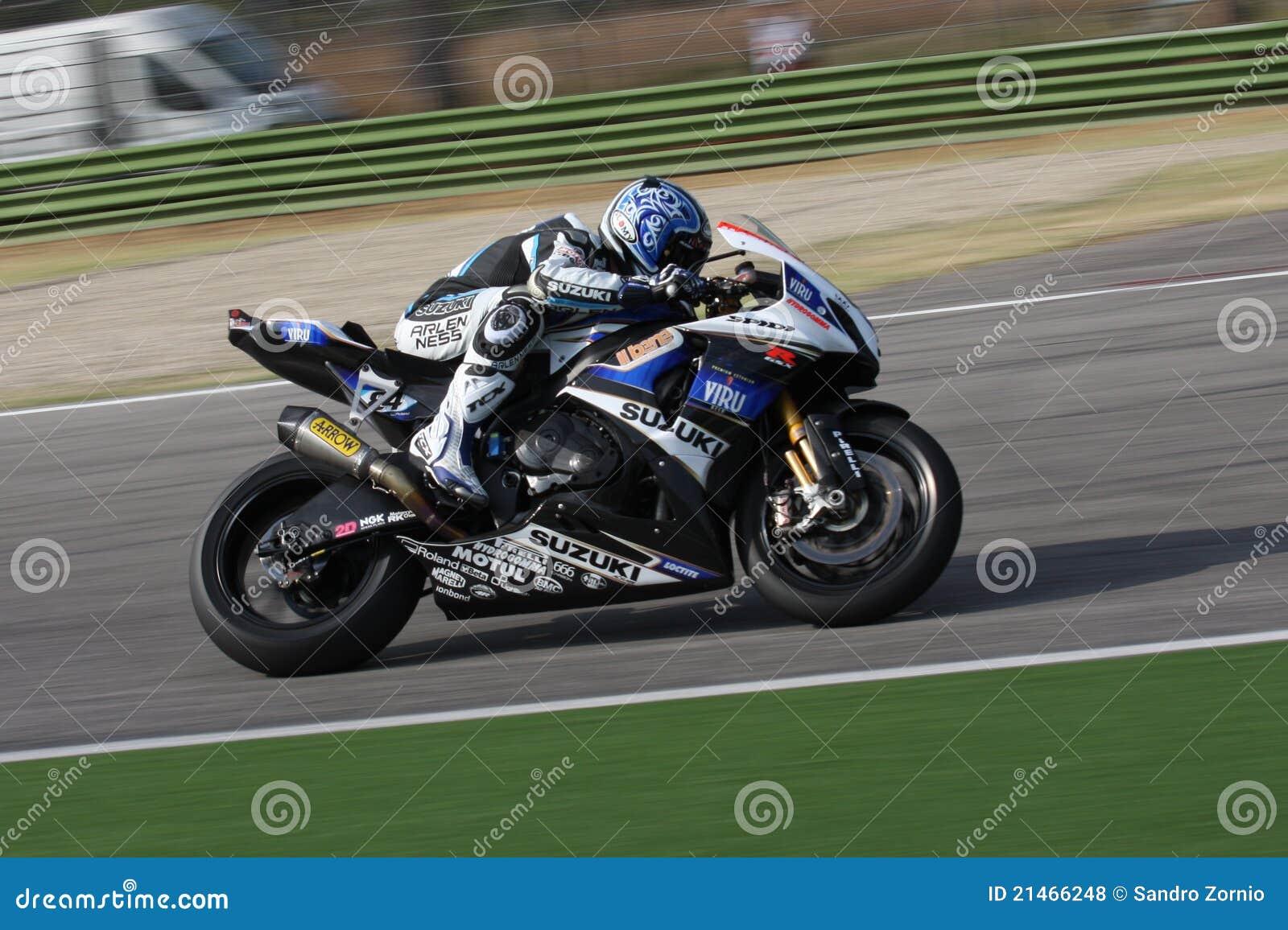 Michel Fabrizio Suzuki GSX-R1000 Alstare