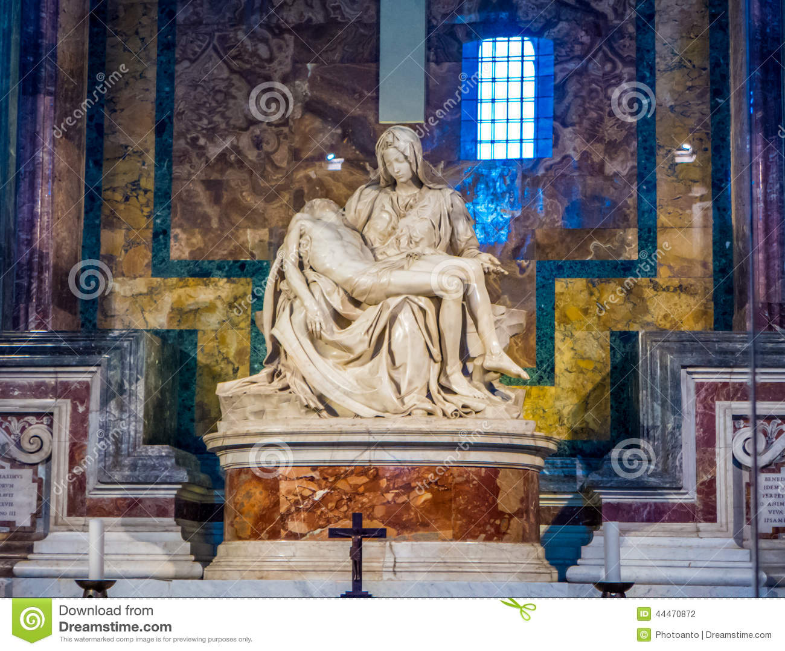 Michelangelo Pieta skulptur i Vaticanen