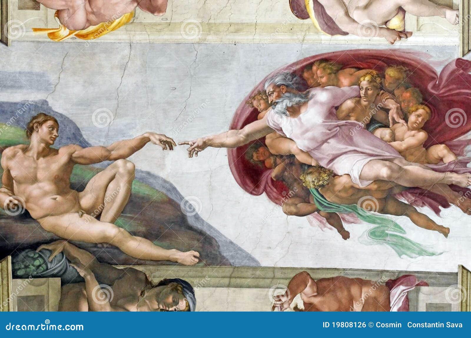 Michelangelo s frescoes in Sistine Chapel