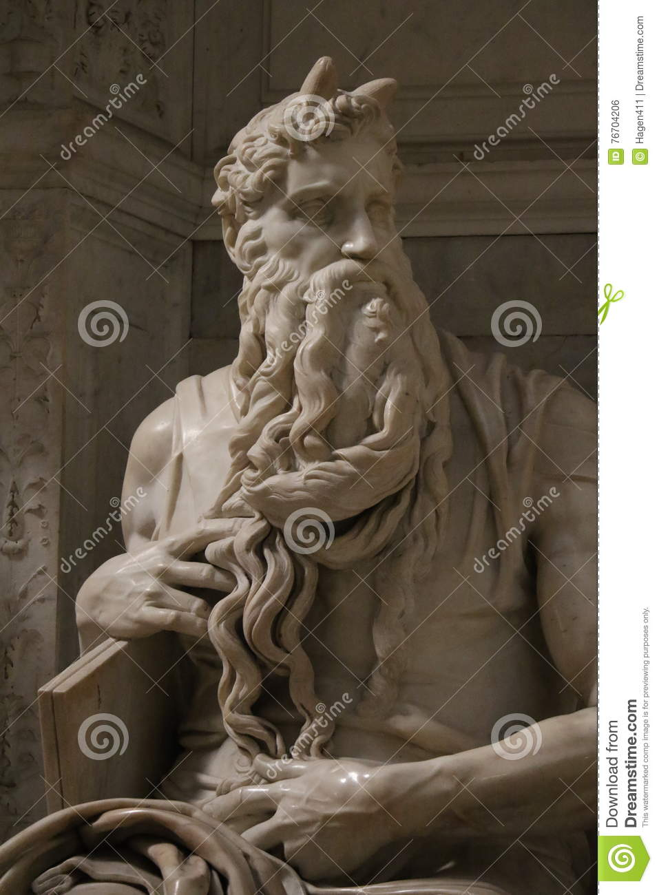 Michelangelo ` s Moses