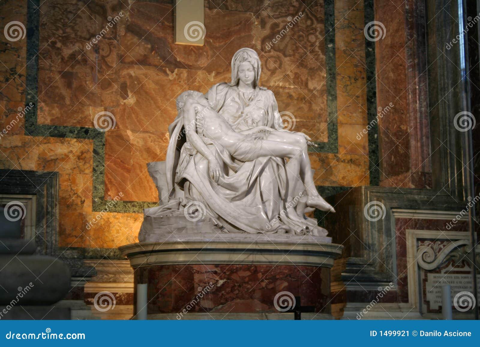 Michelangelos La Pietà