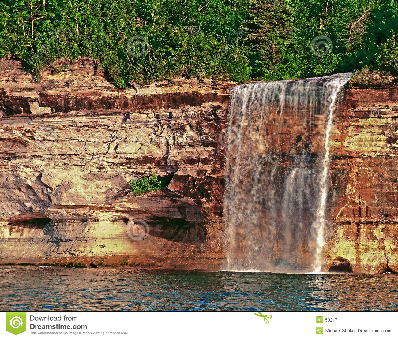 Michigan faller munising spray