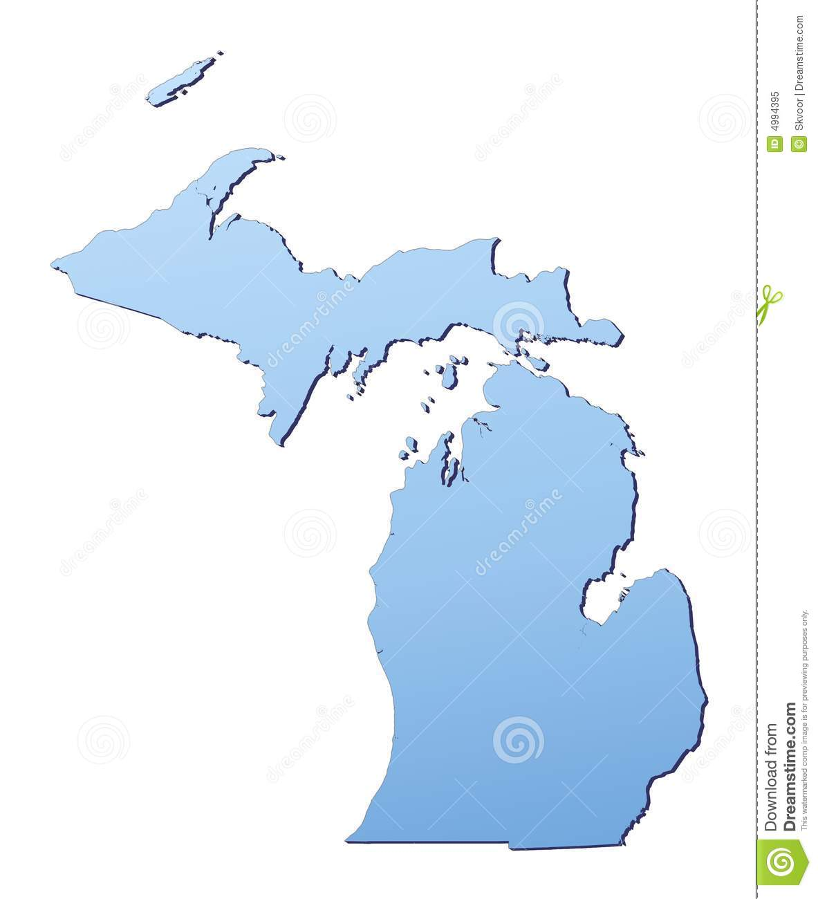 Show Usa Map Google Images Michigan State Maps USA Maps Of - Michigan usa map