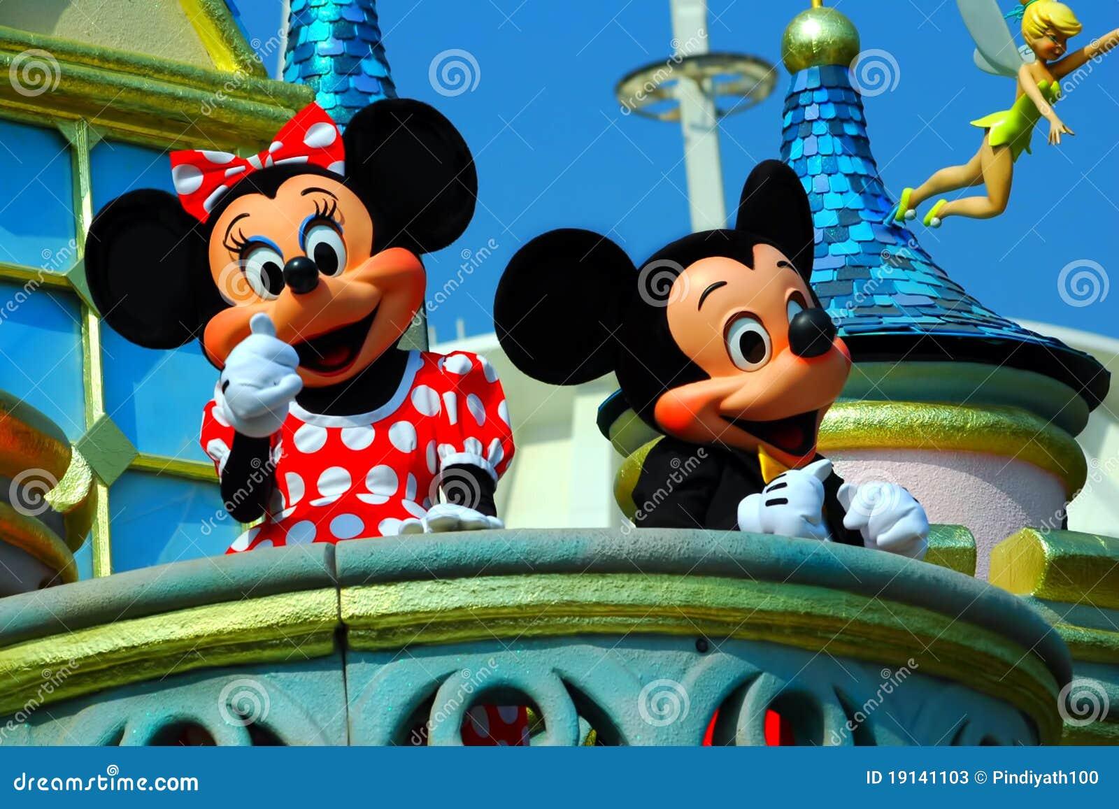 Mickey et souris de minnie