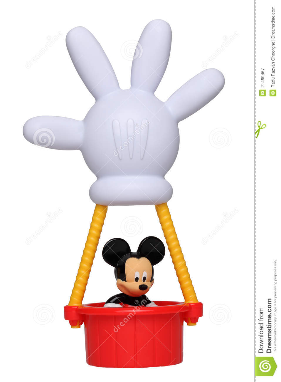 Mickey Mouse In His Hot Air Balloon Editorial Photography - Image ...