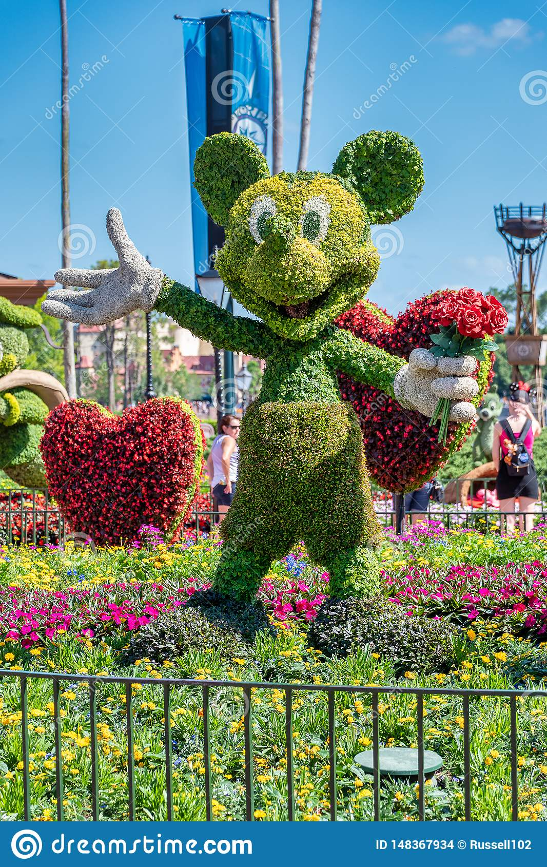 Mickey Mouse Topiary Photos Free Royalty Free Stock Photos From Dreamstime