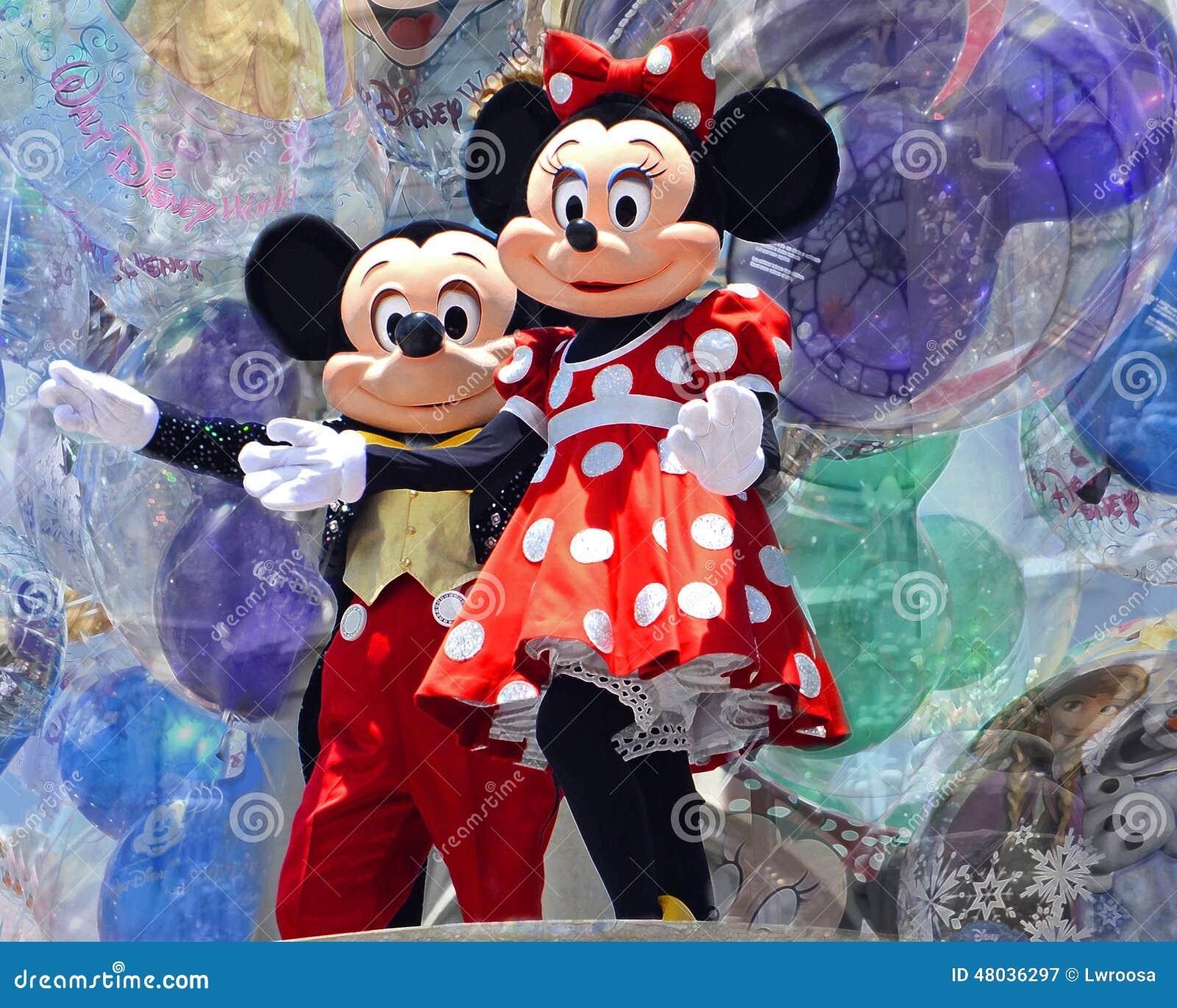 Mickey och Minnie mus