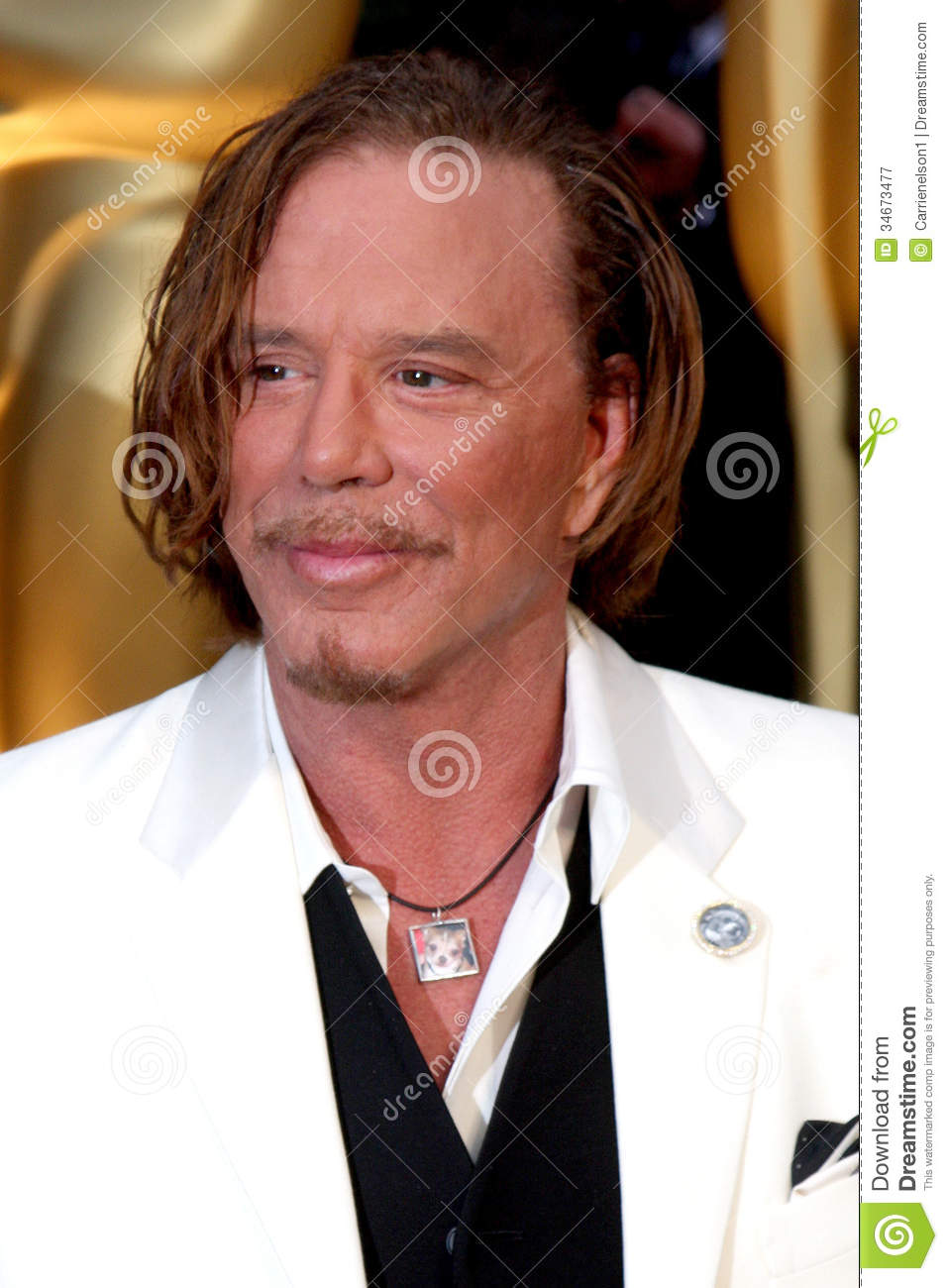 Mickey Rourke Editorial Photography Image 34673477