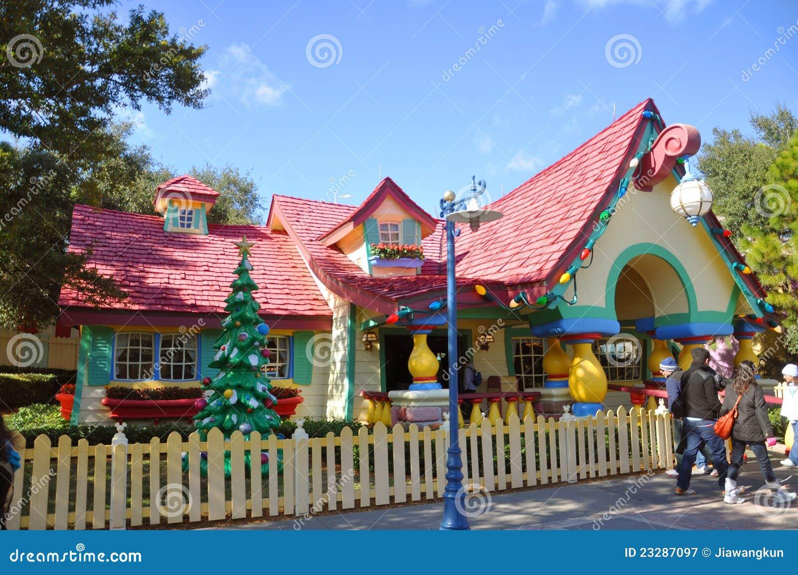 Mickey's Country House, Disney World Orlando Editorial