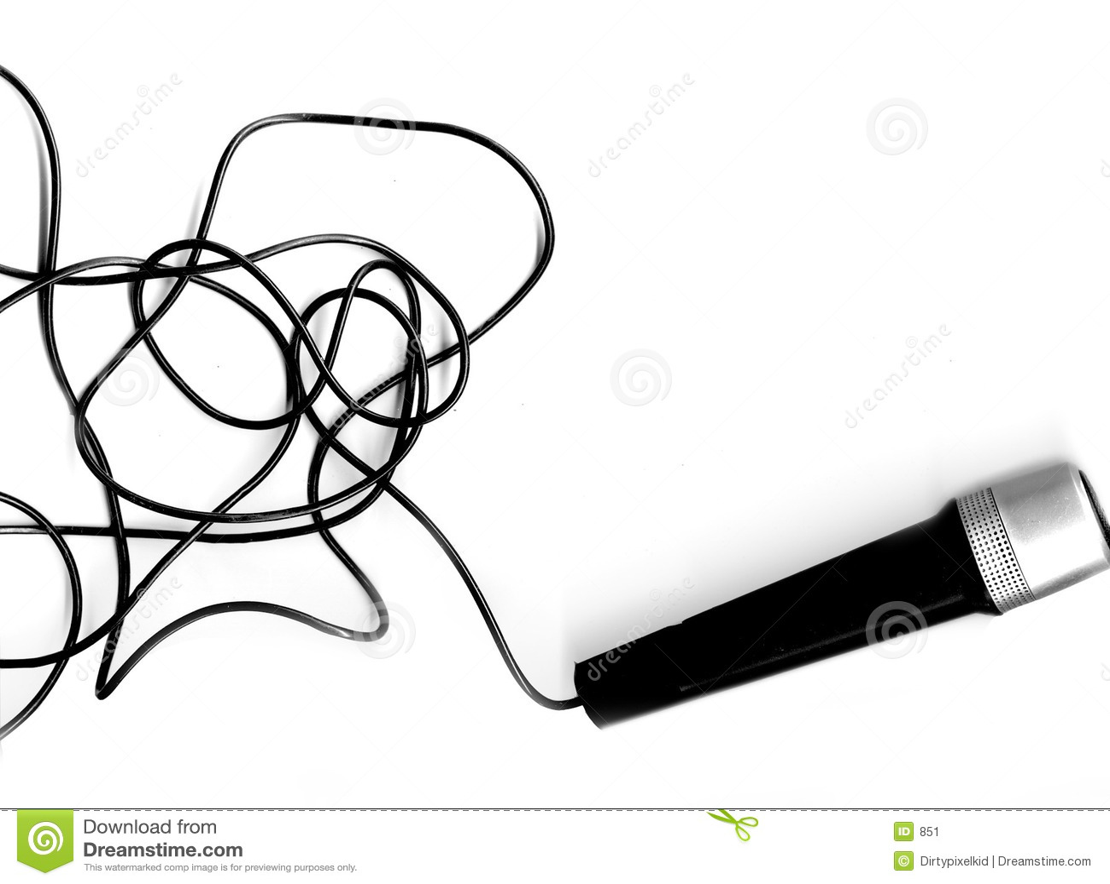 Micrófono + terminal de componente
