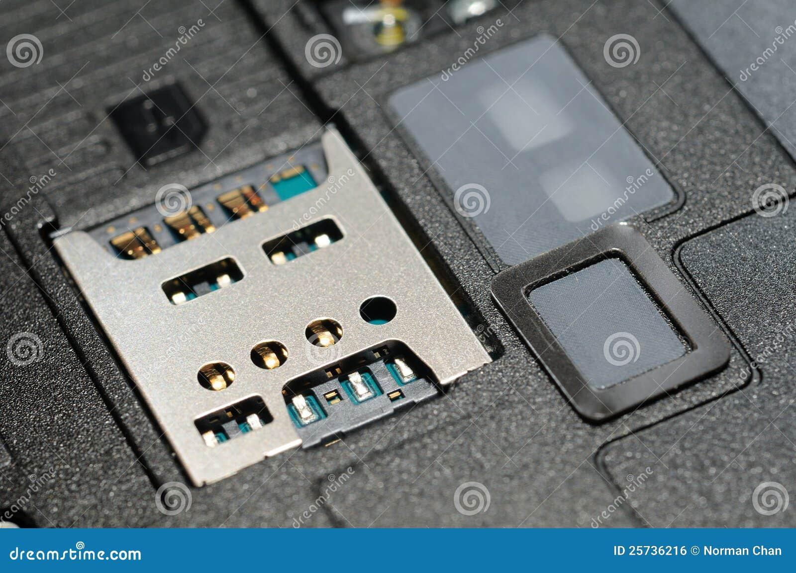 Micro sim card slot