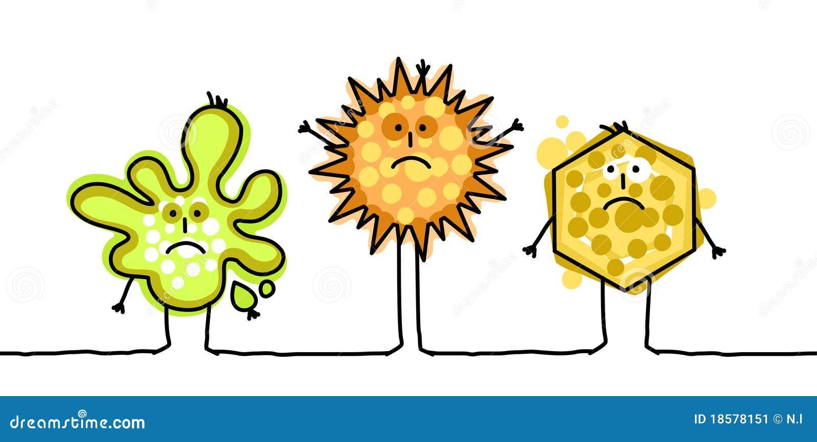 Microbios divertidos