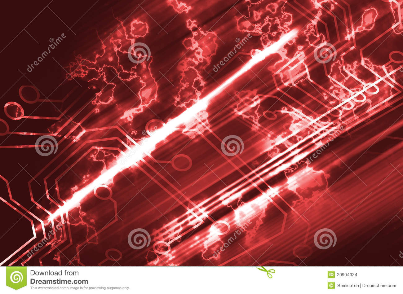 Microchip Background Stock Images - Image: 20904334