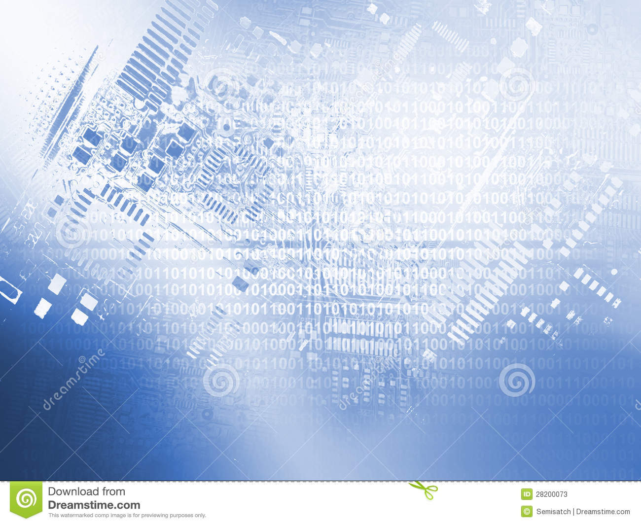 Microchip Background Stock Photos - Image: 28200073