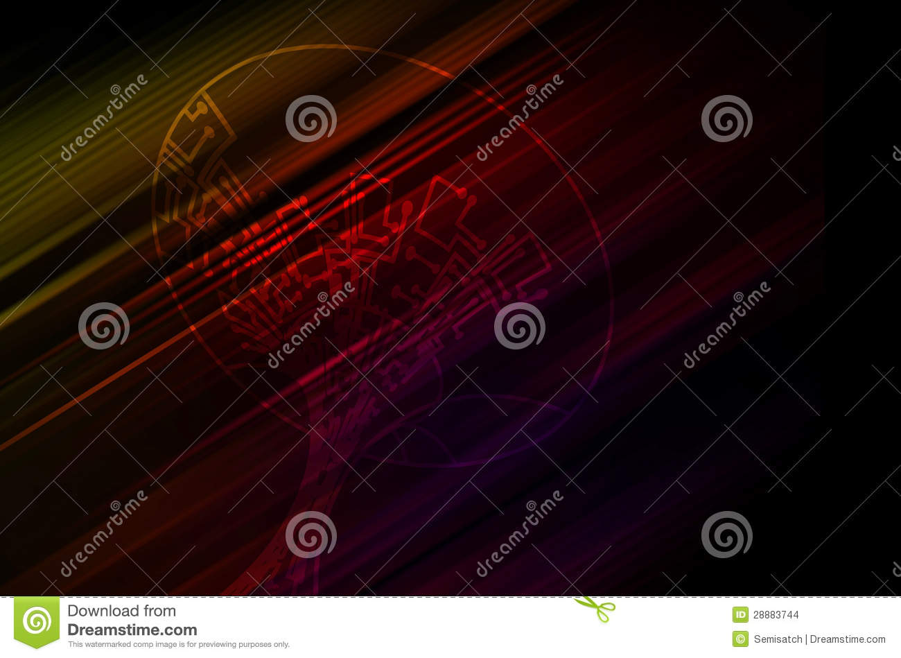 Microchip Background Stock Images - Image: 28883744