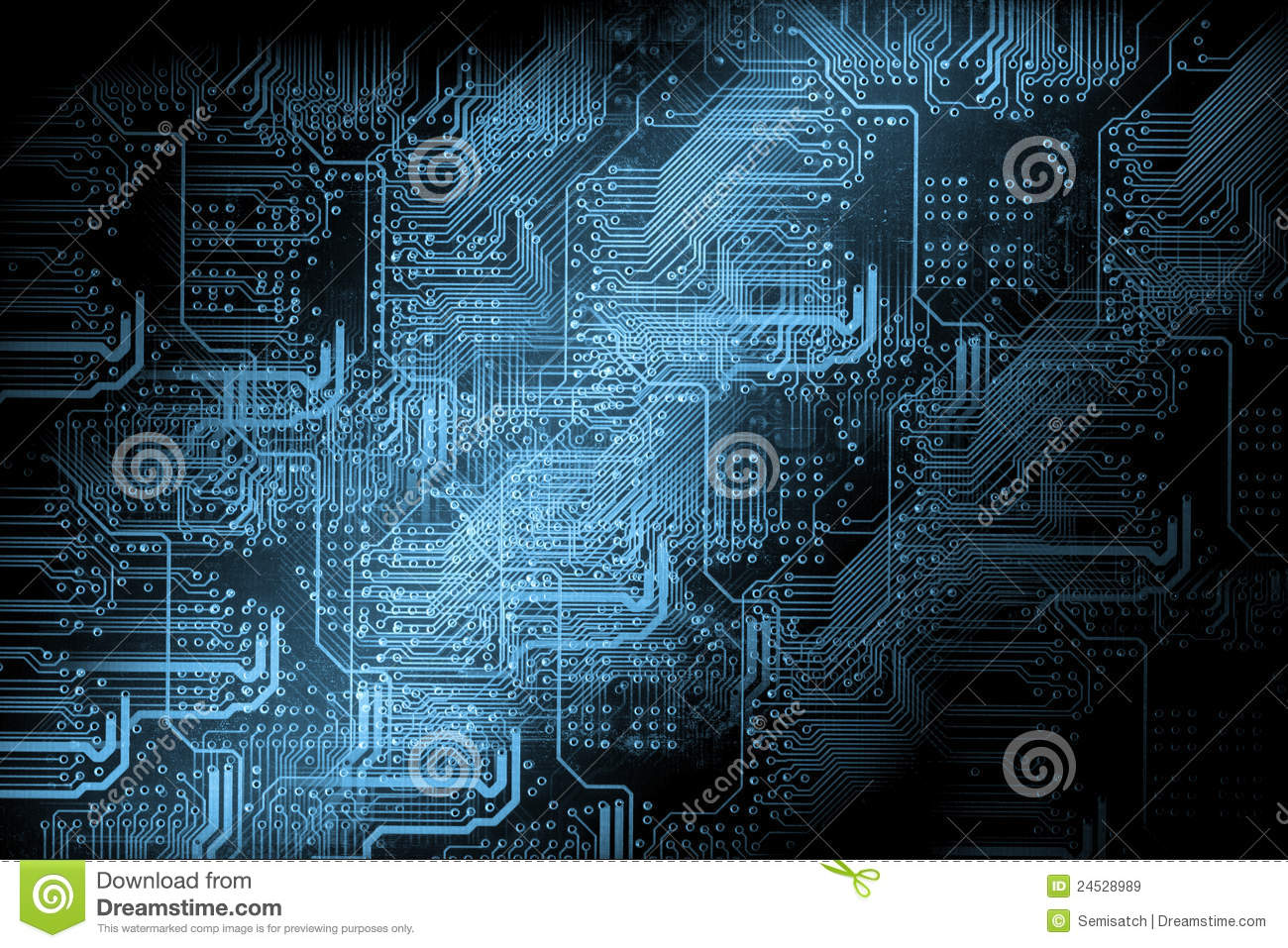 Microchip Background - Technology Concept Royalty Free ...