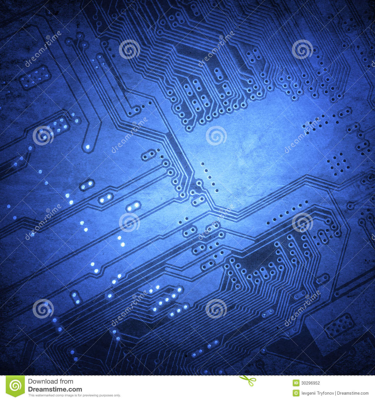 Microchip Background Stock Photography - Image: 30296952