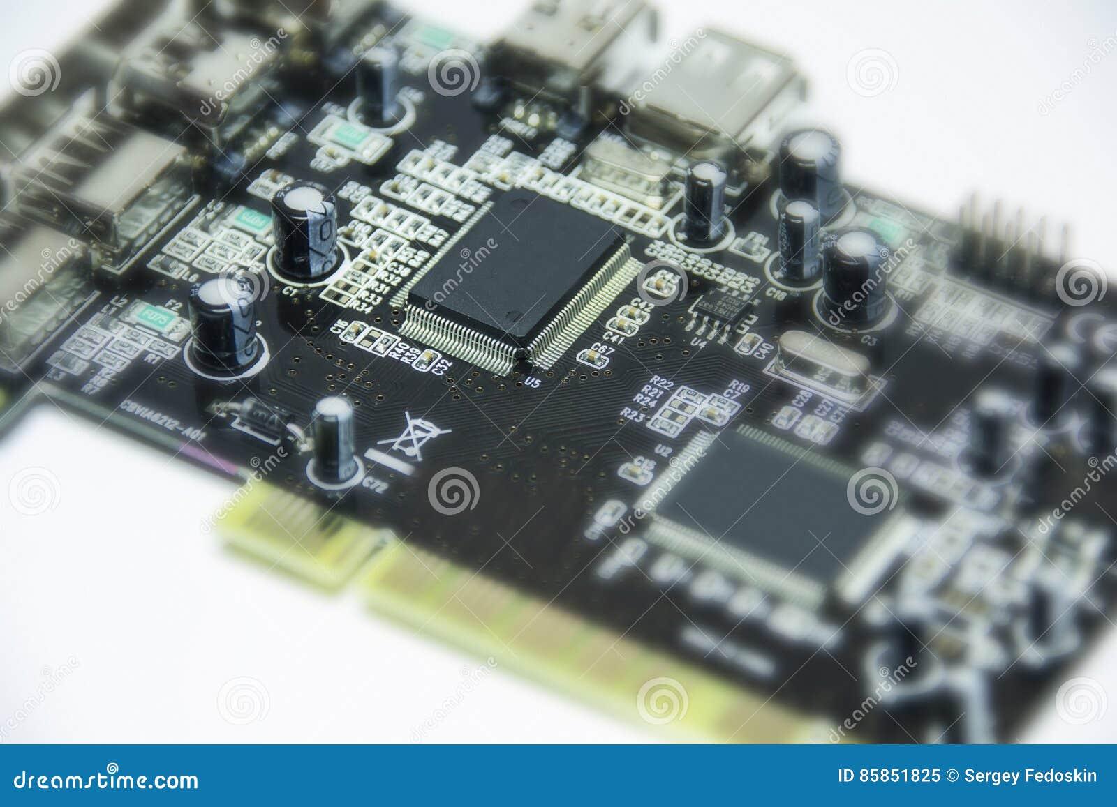 Microchips en transistors