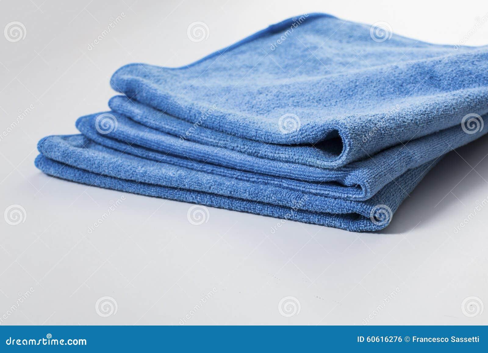 microfiber towel for car wipe stock photo image 60616276. Black Bedroom Furniture Sets. Home Design Ideas