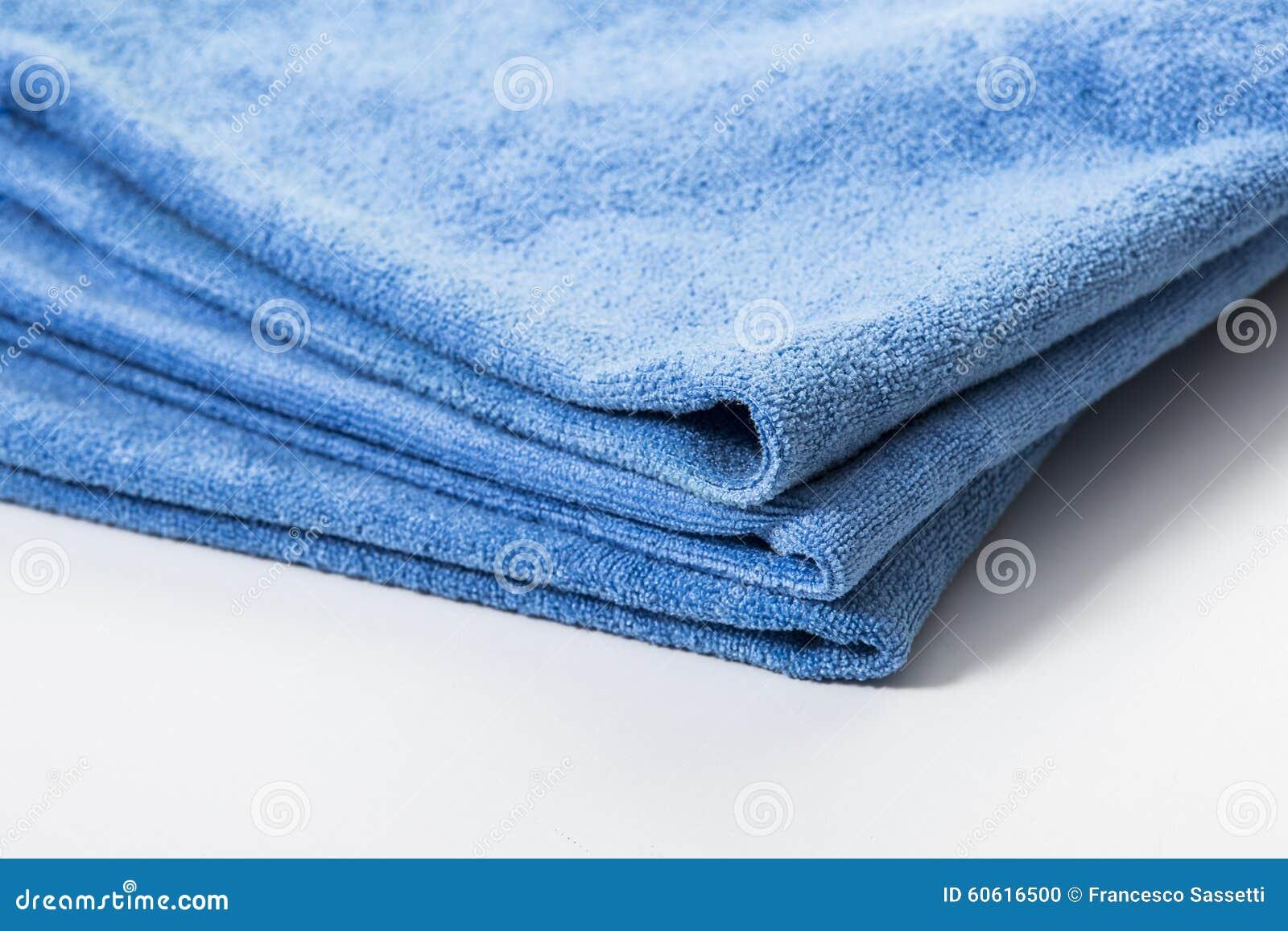 microfiber towel for car wipe stock photo image 60616500. Black Bedroom Furniture Sets. Home Design Ideas