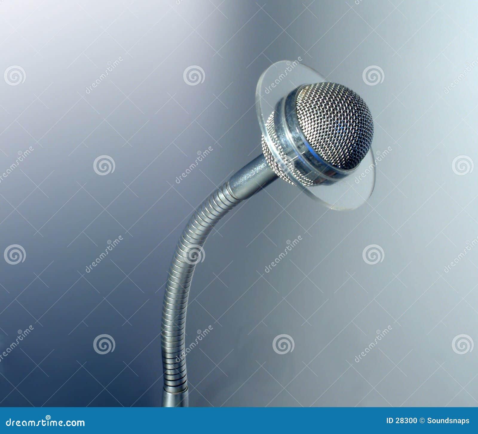 Microfone do Talkback do estúdio