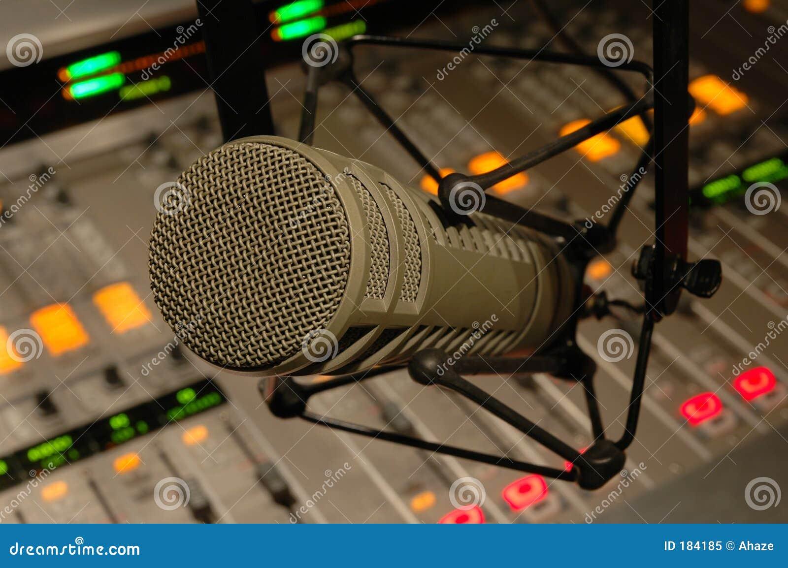 Microfono dello studio
