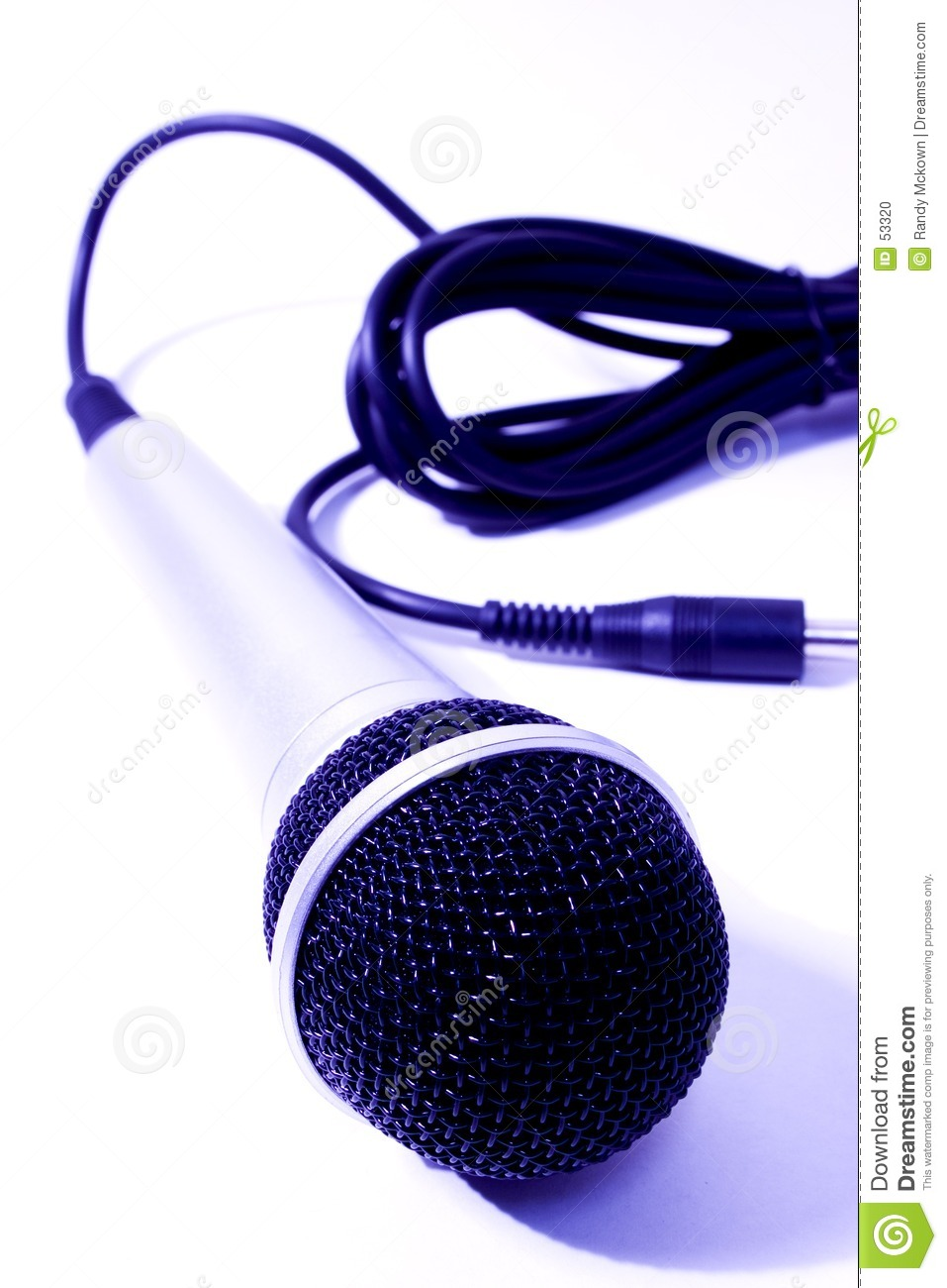 Download Microphone photo stock. Image du microphone, instrument - 53320