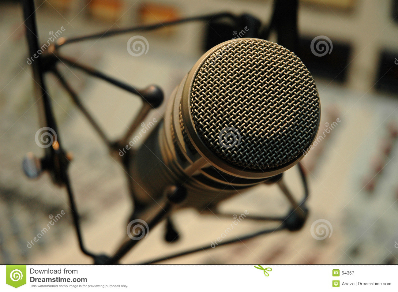 Download Microphone image stock. Image du sonore, musique, studio - 64367
