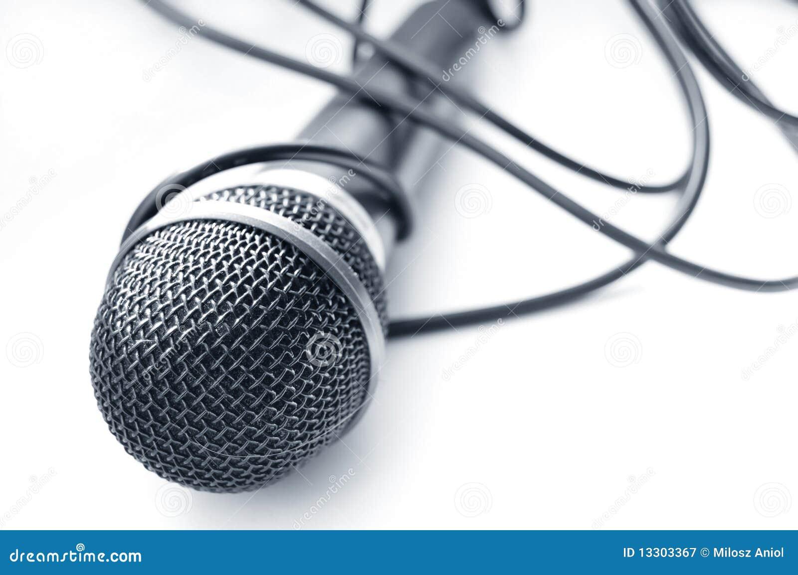 Microphone conceptual image.