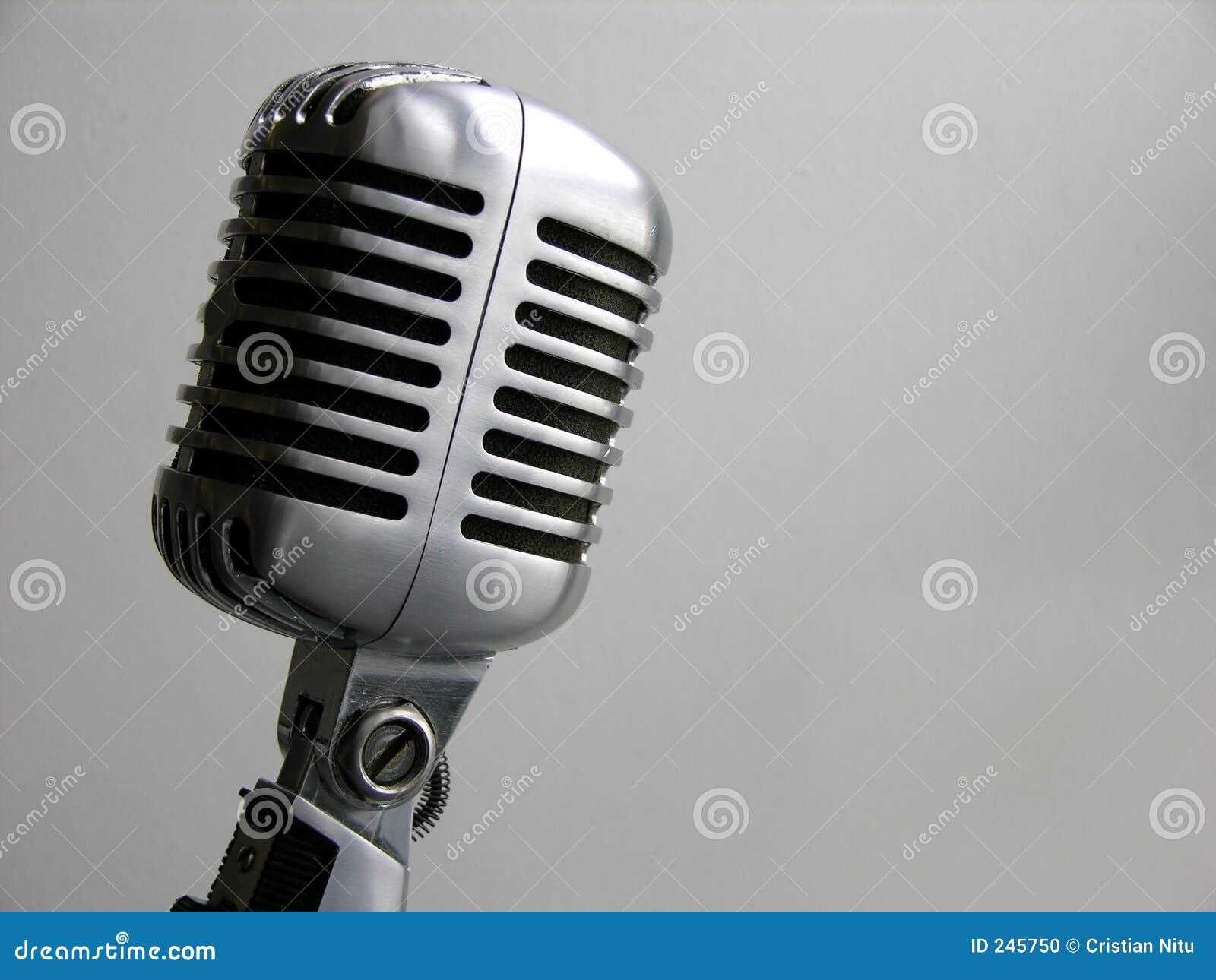 Microphone de cru