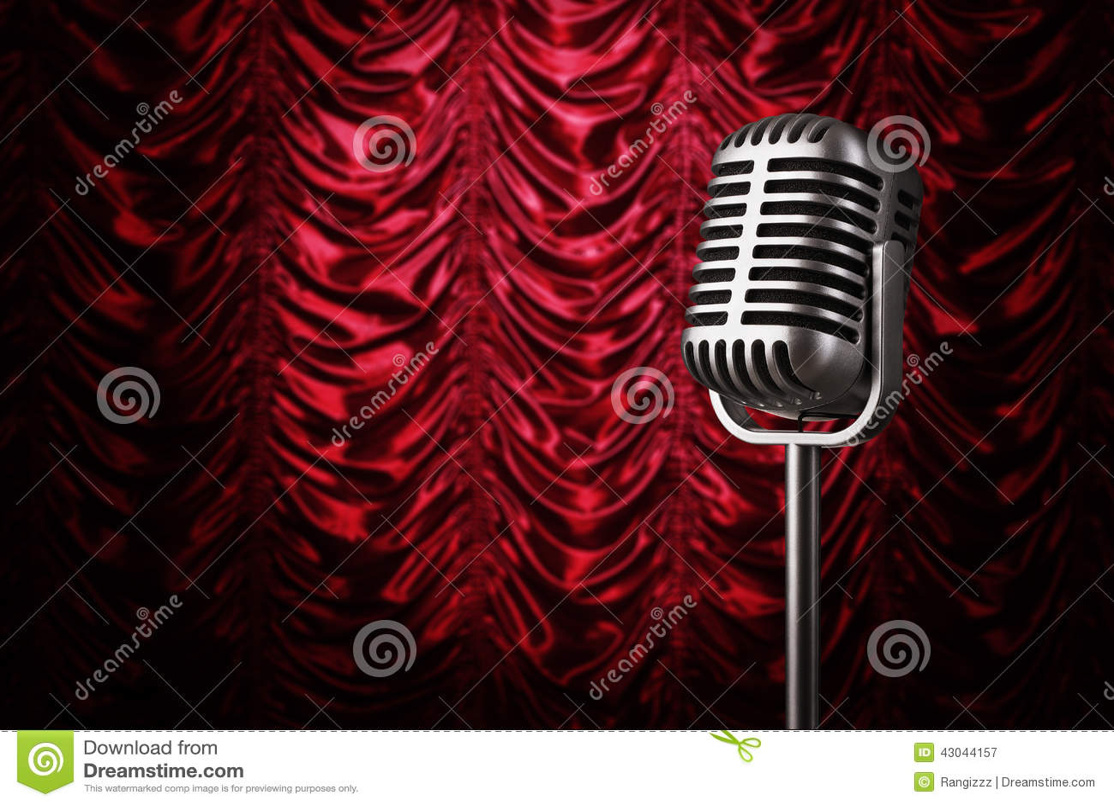 Microphone de vintage