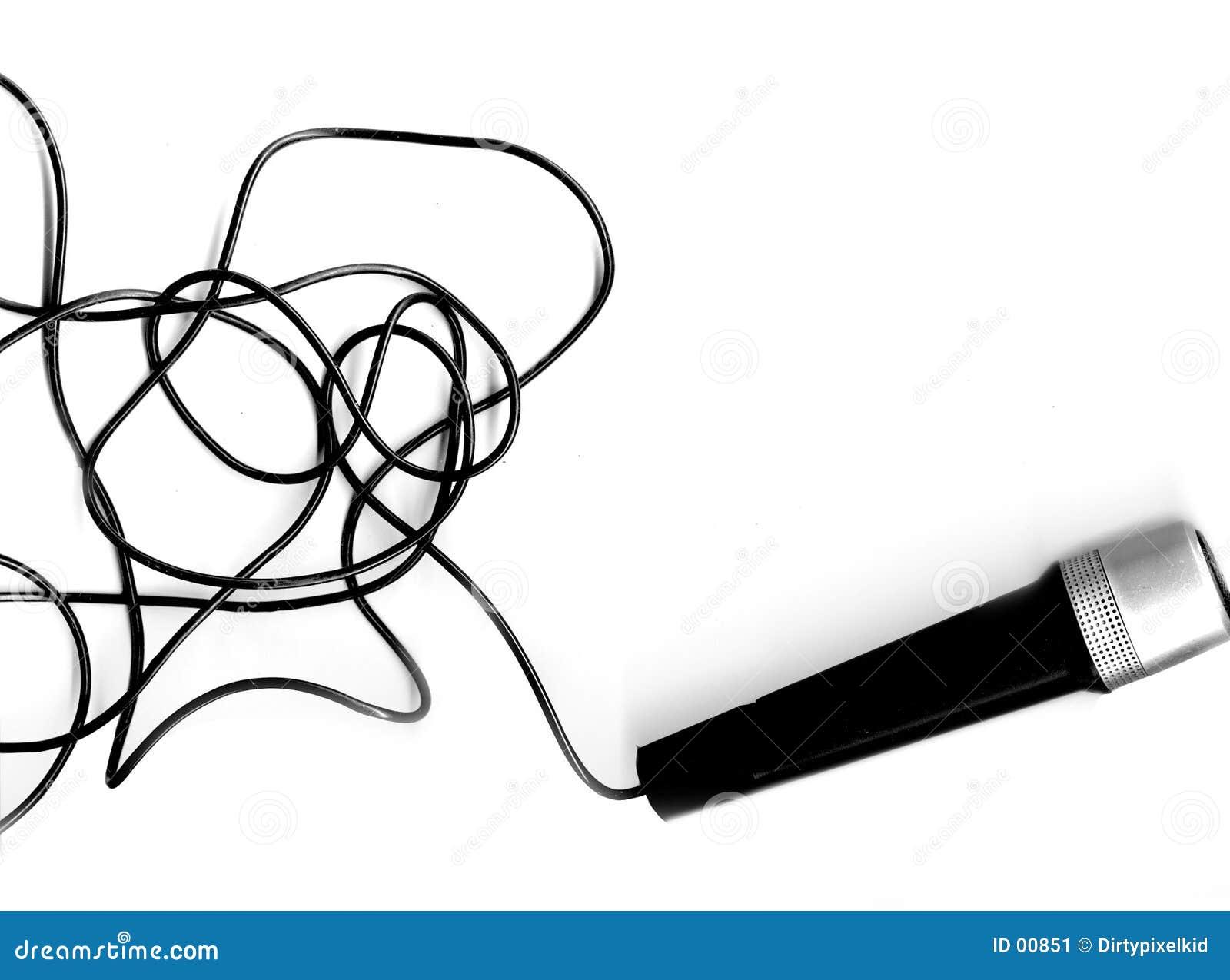 Microphone + fil de sortie