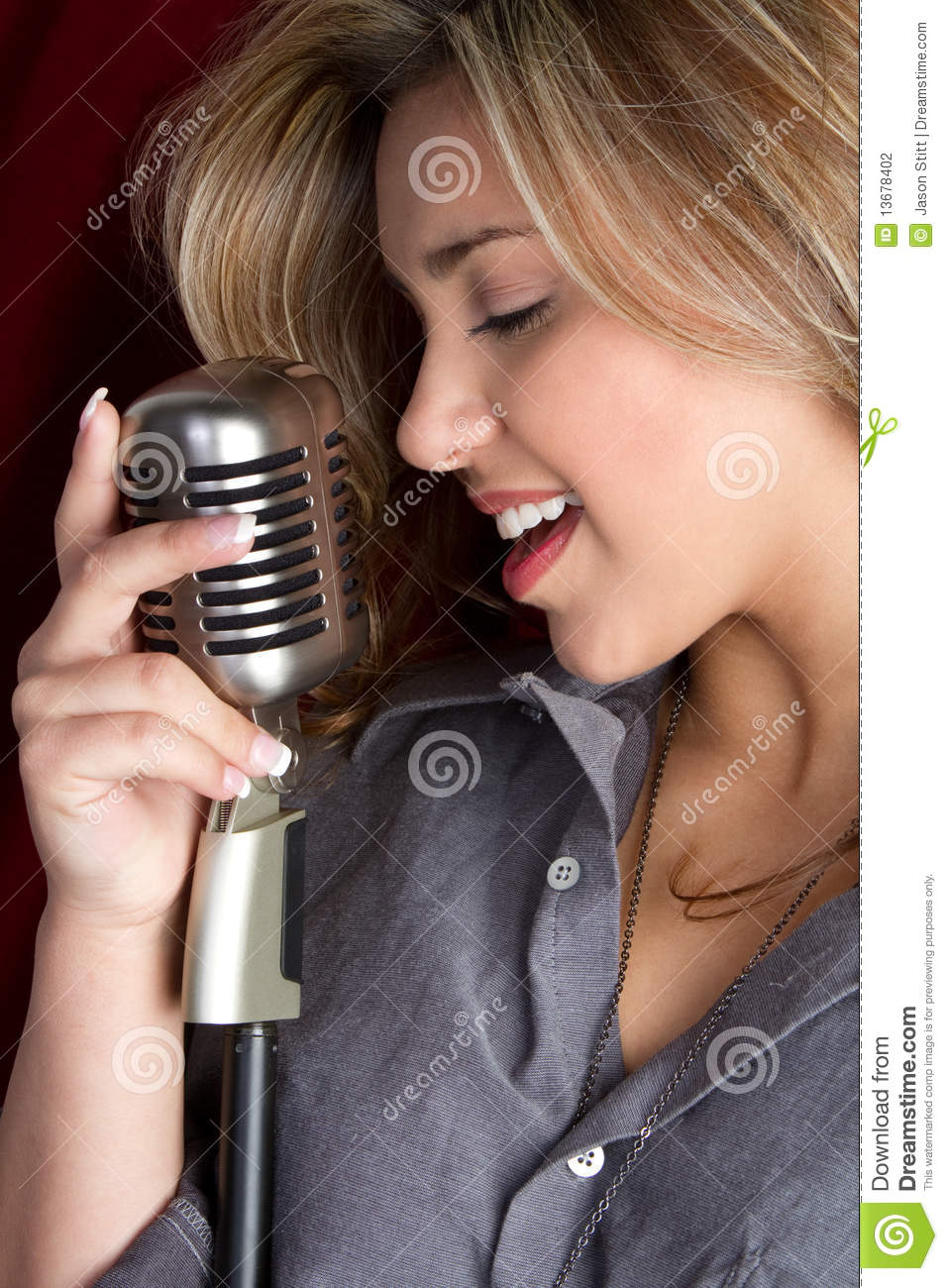Microphone Girl