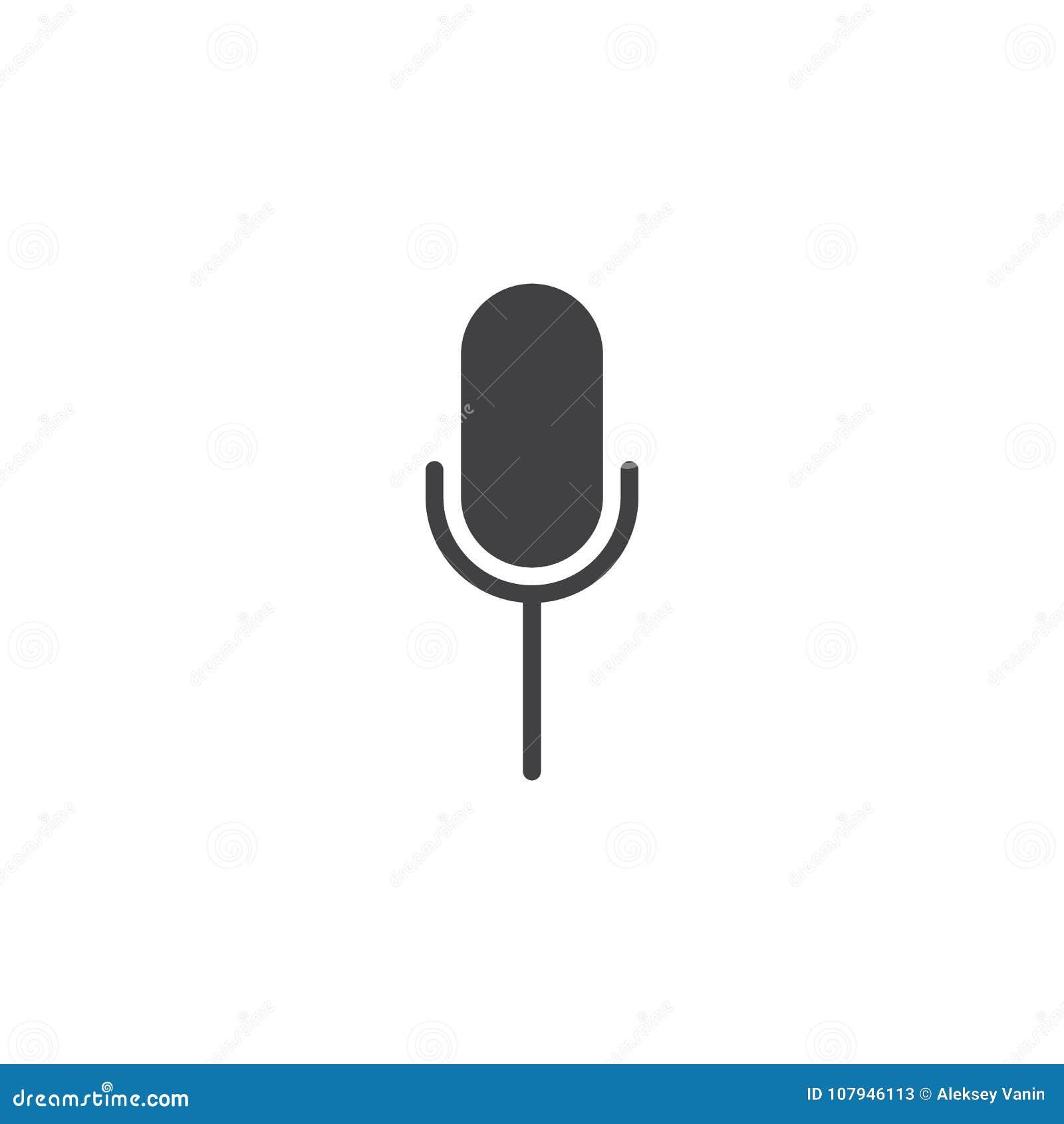 Perfect Microphone Icon Public Domain Ornament - Electrical Diagram ...