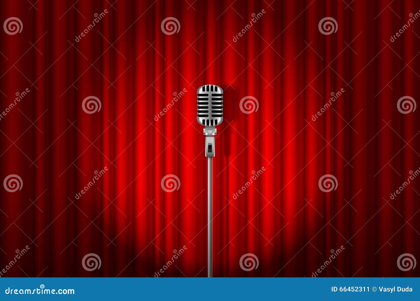 how to change microphone settings red karaoke
