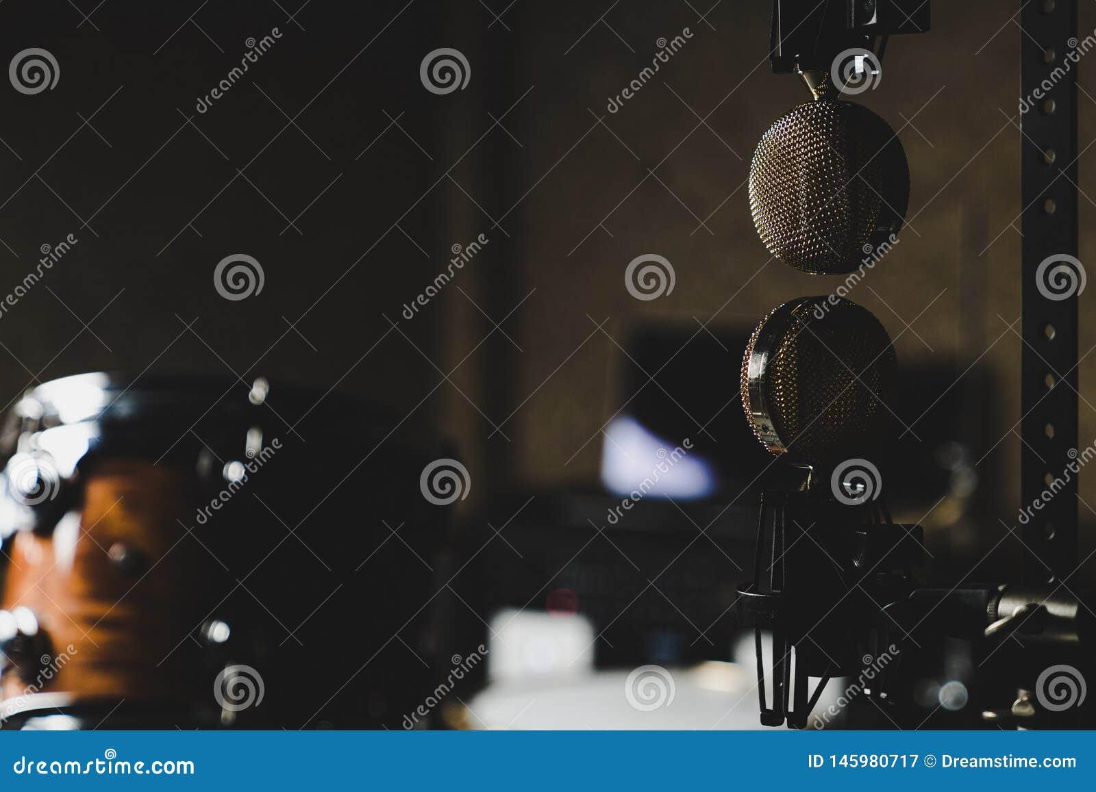 Microphones Upside Down