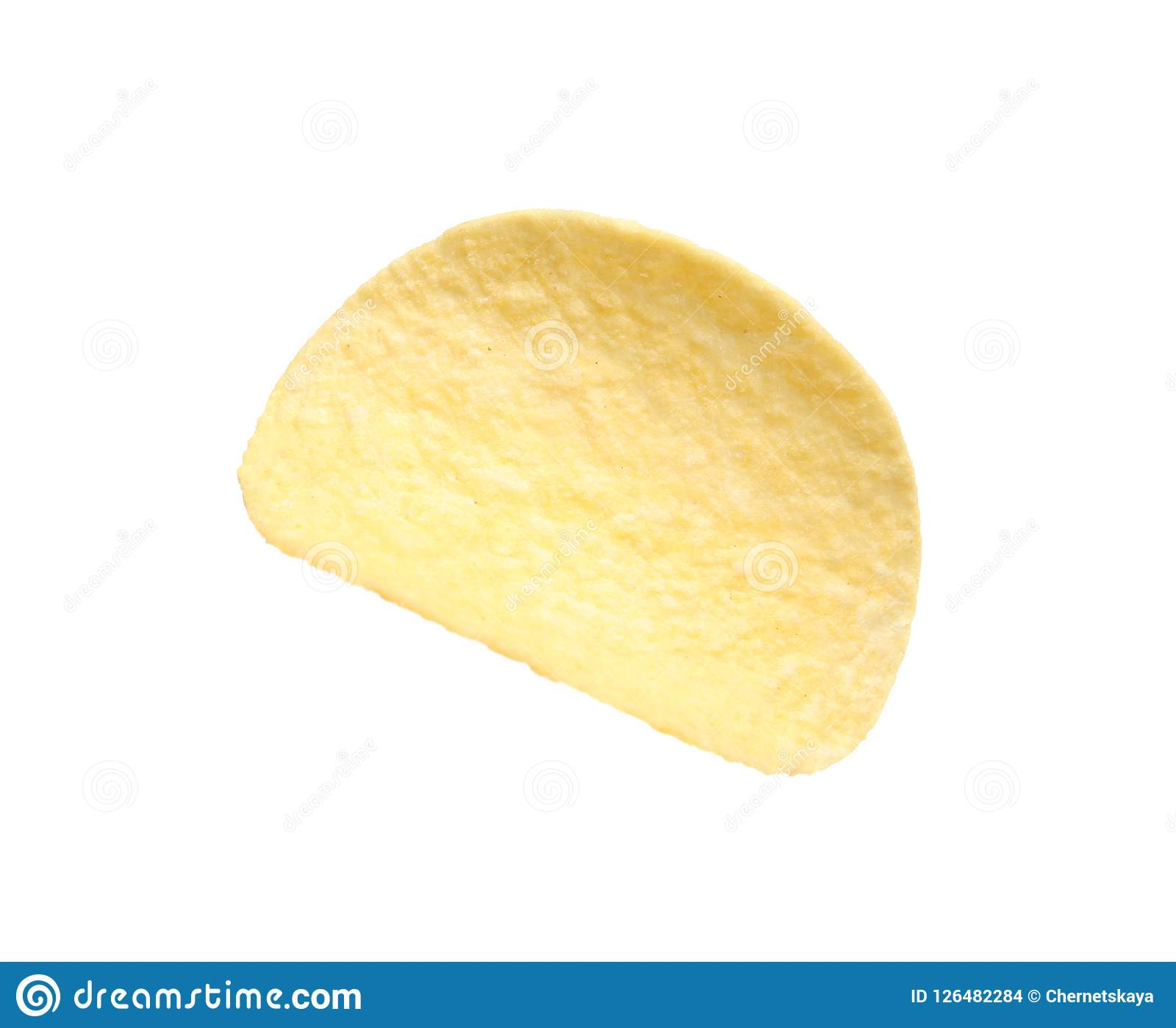 Microplaqueta de batata friável saboroso Imagens de Stock