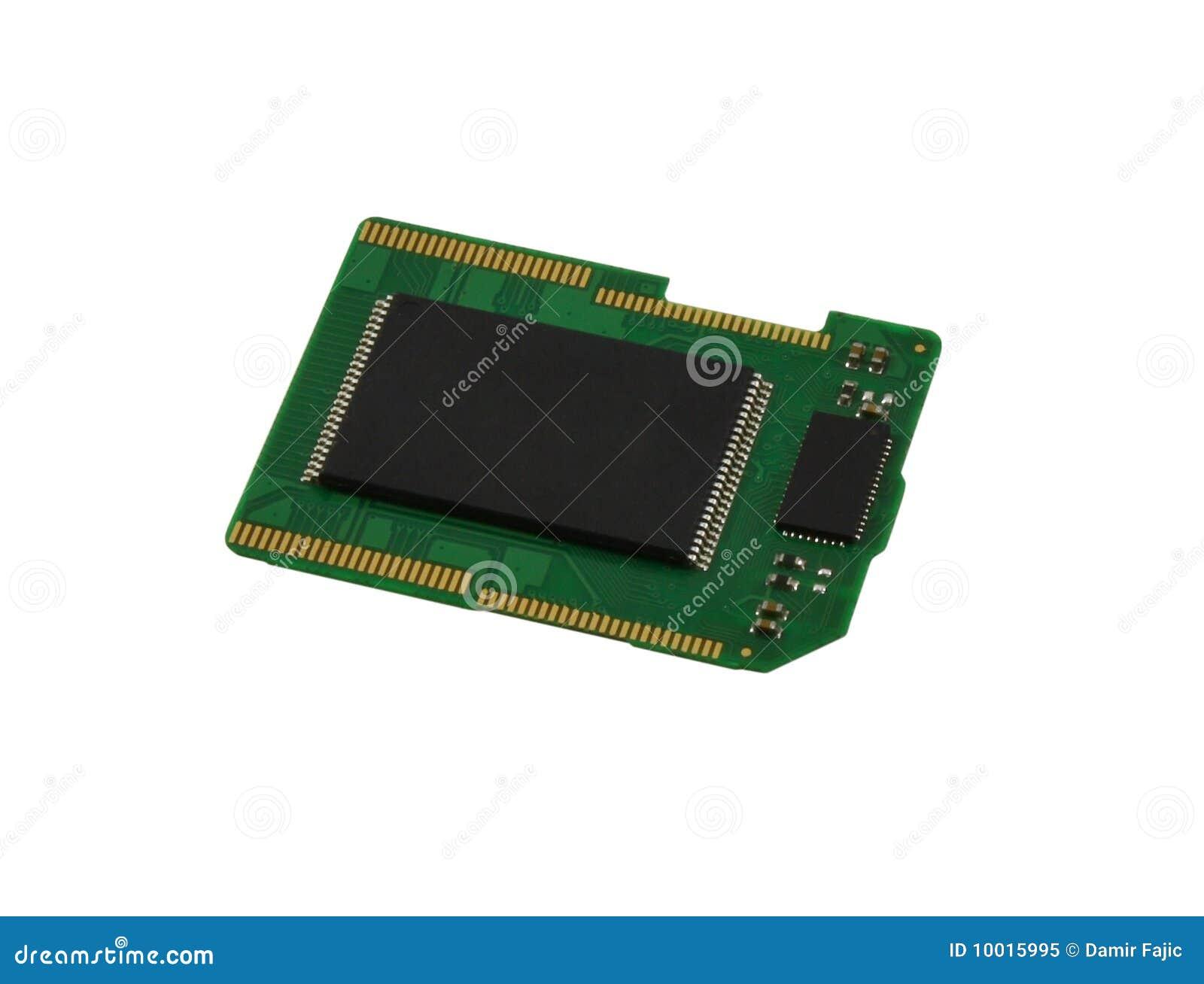 Microplaqueta do cartão do SD