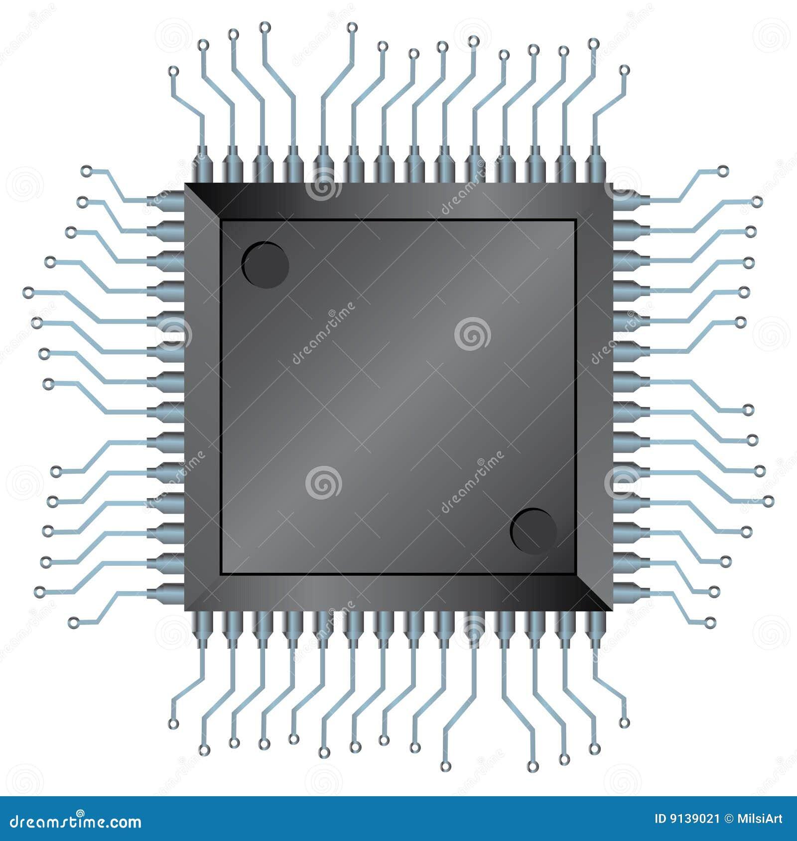 Microplaqueta do processador central