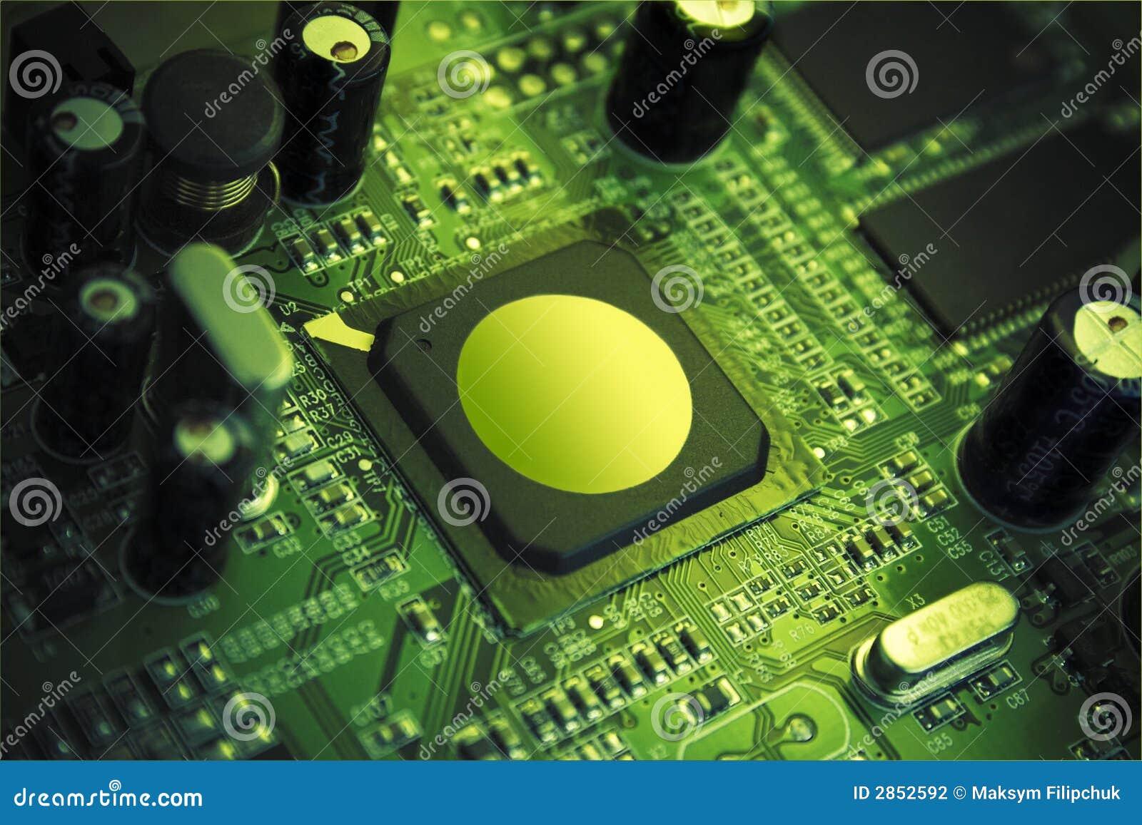 Microplaqueta high-technology