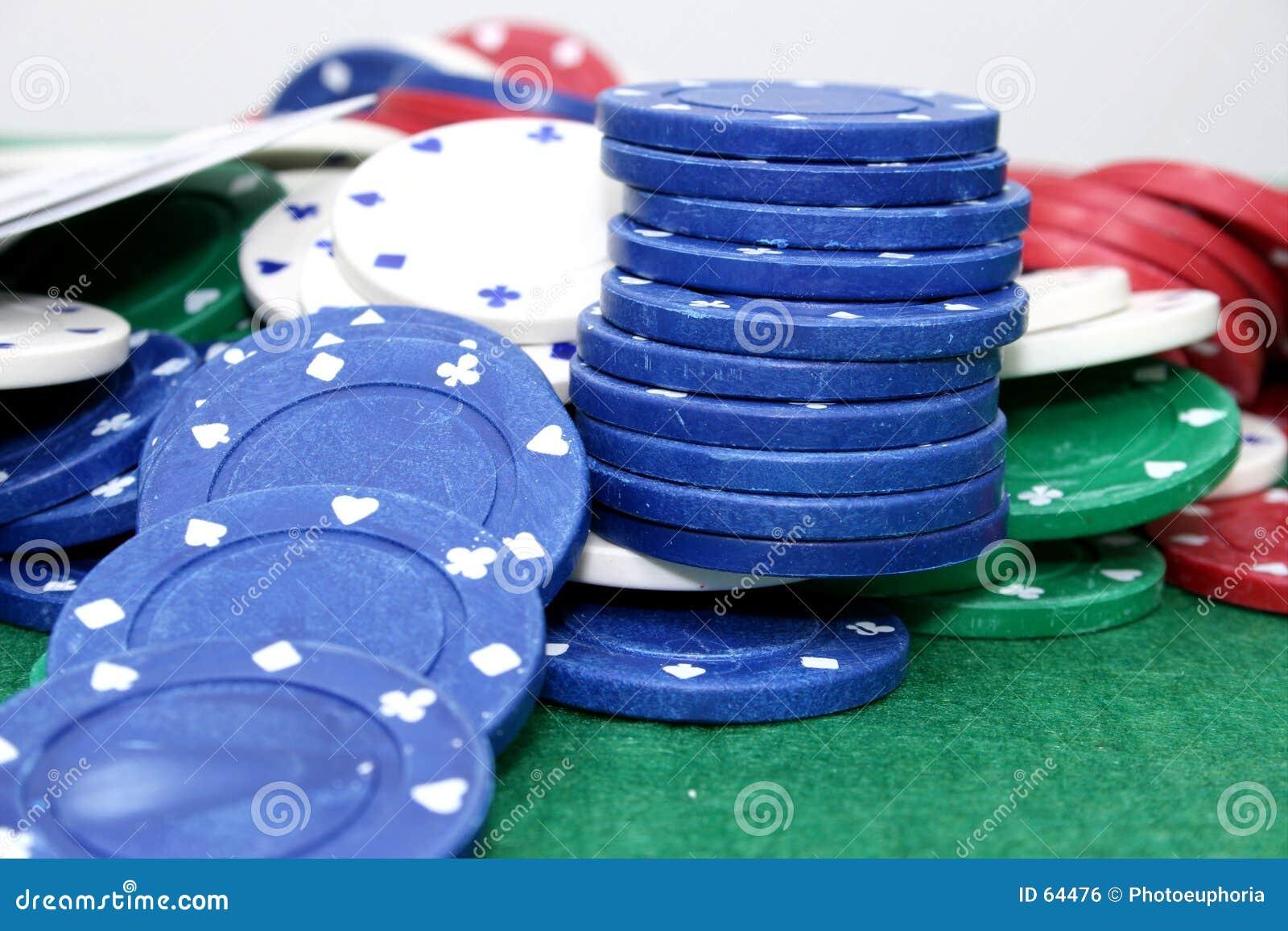 Microplaquetas 01 do póquer