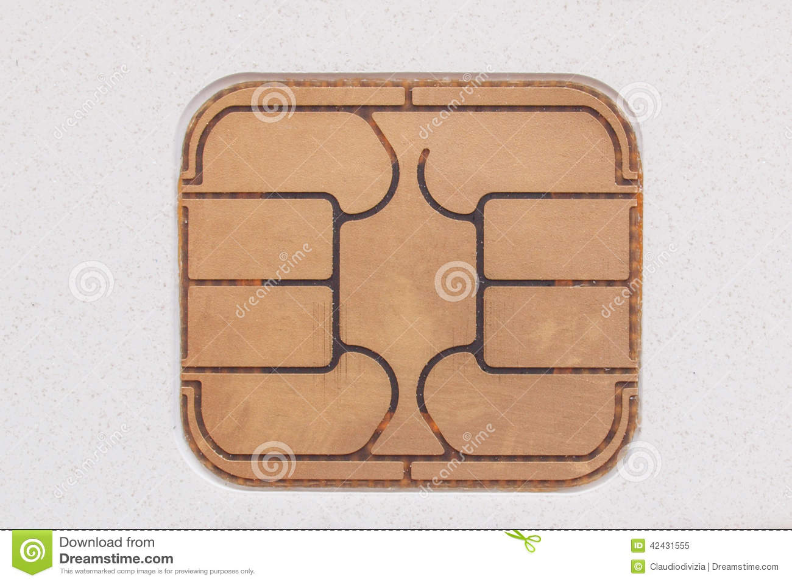 Microprocesador de la tarjeta