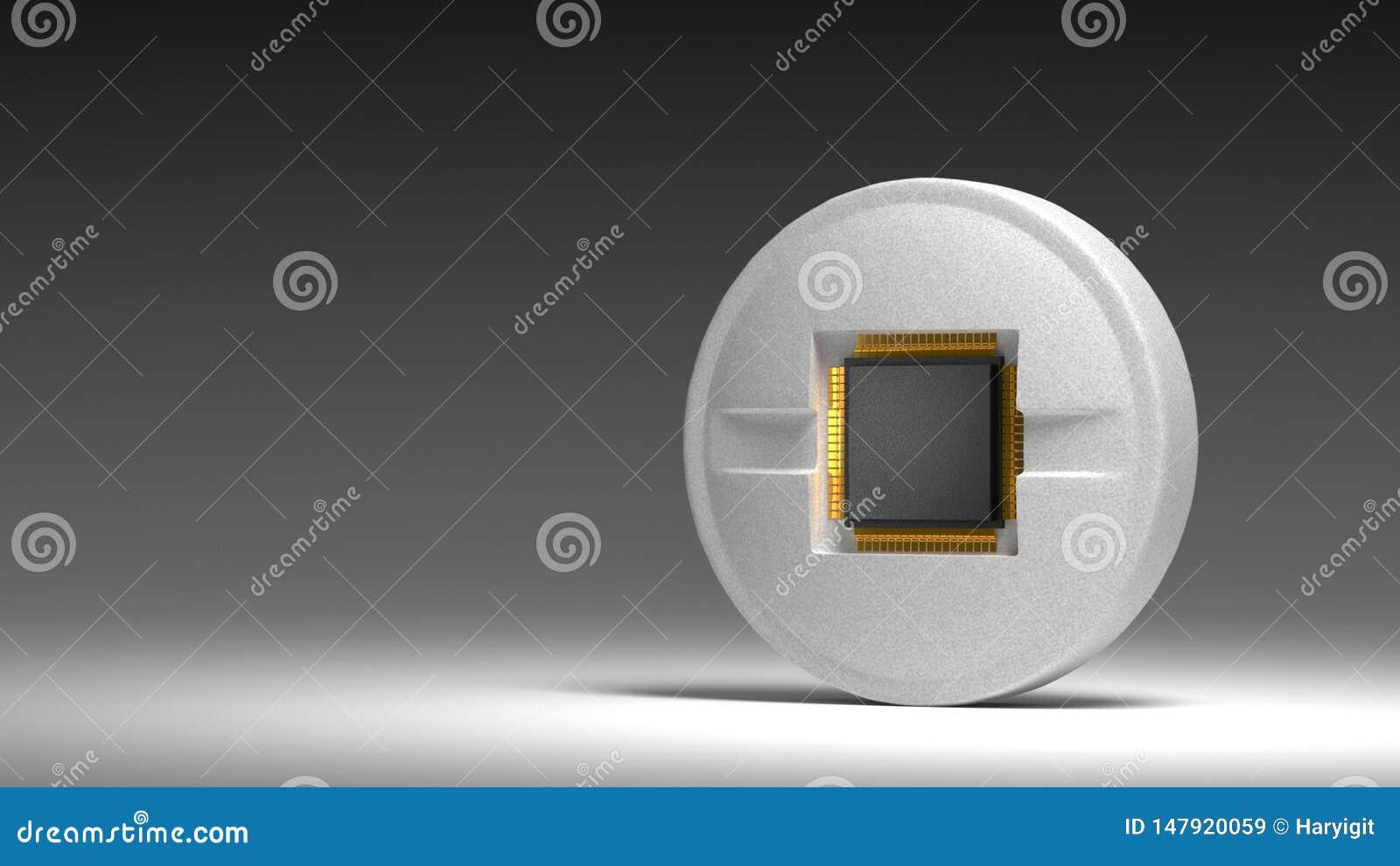 Microprocesador en píldora