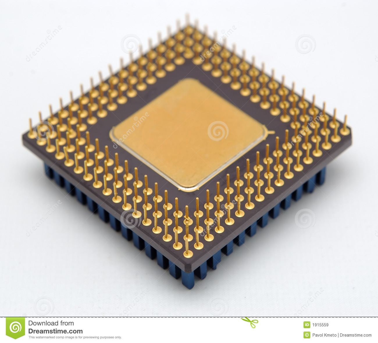 Microprocessor Royalty Free Stock Images - Image: 1915559