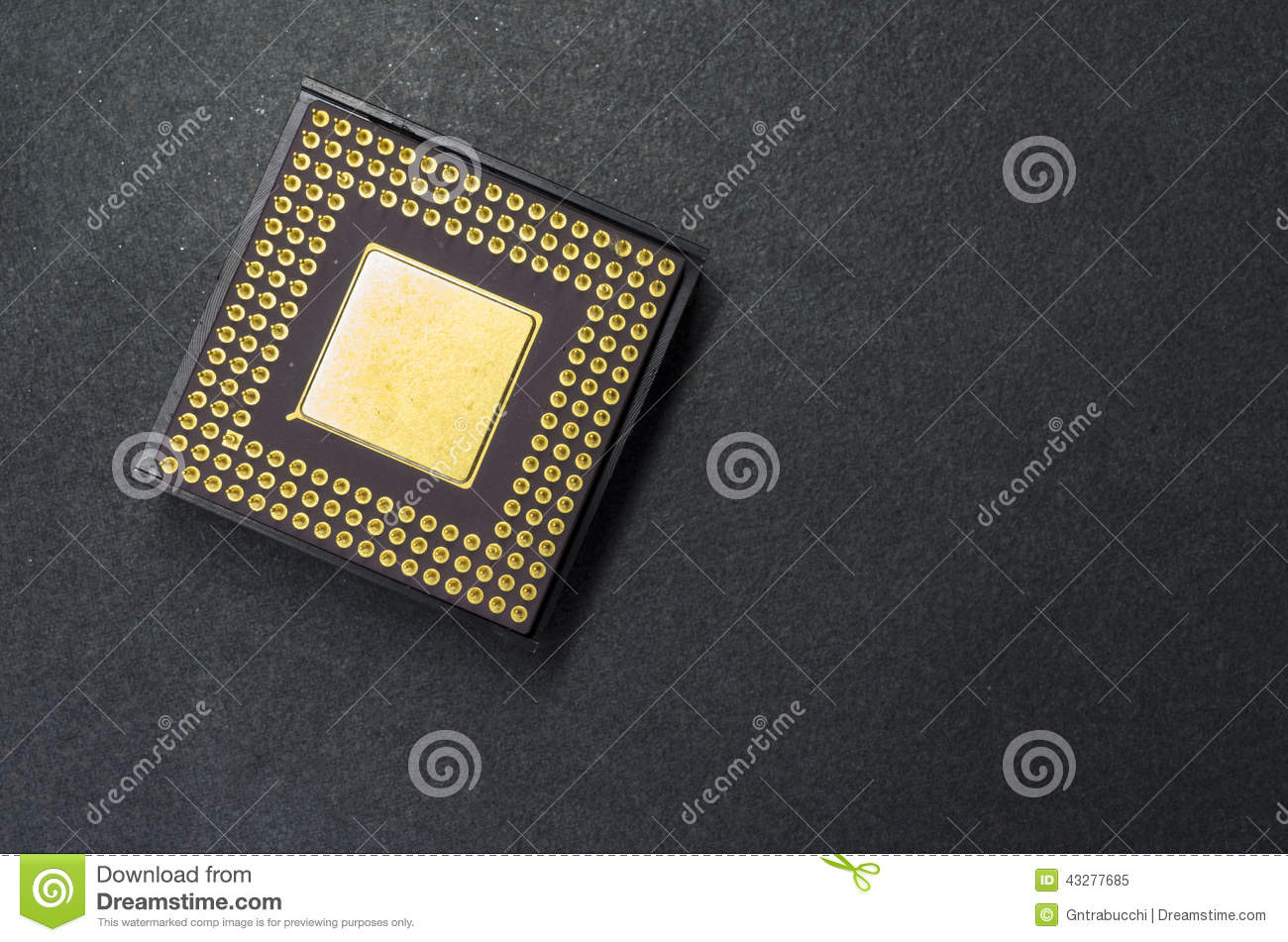 Microprocessor Stock Image Of Electronic Circuit Symbols Integrated Components Component Close Up