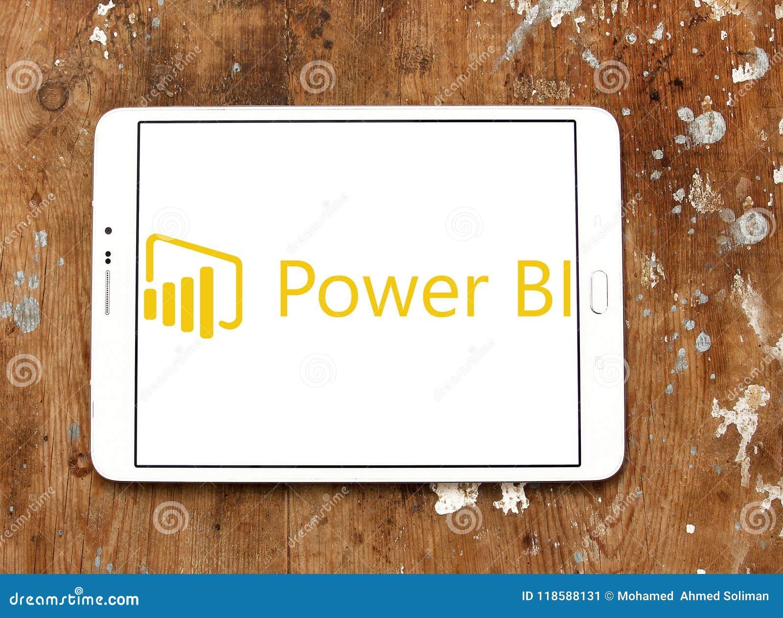 Microsoft alimenta il logo della BI