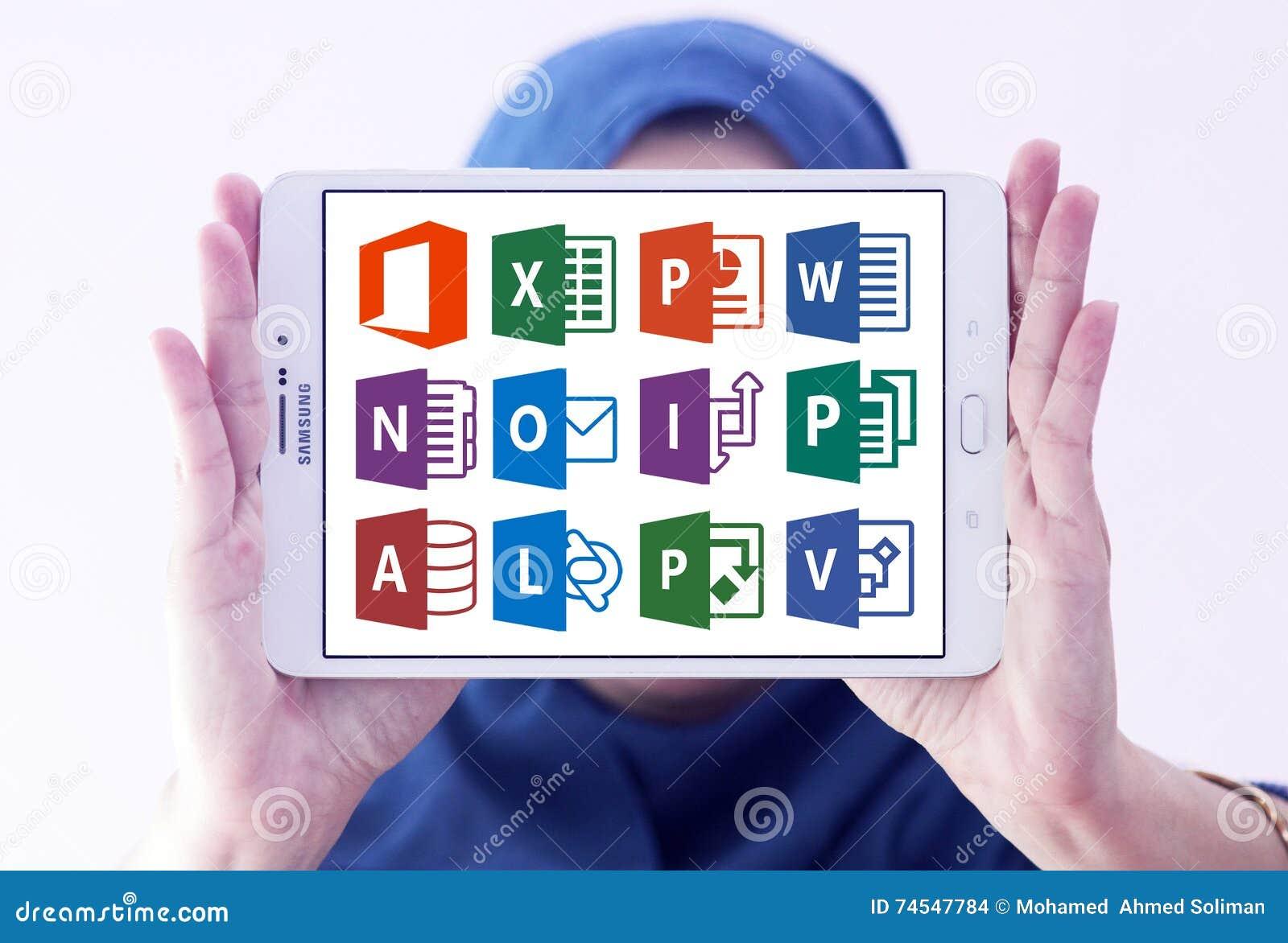 Microsoft-het bureauwoord, blinkt, Power Point uit