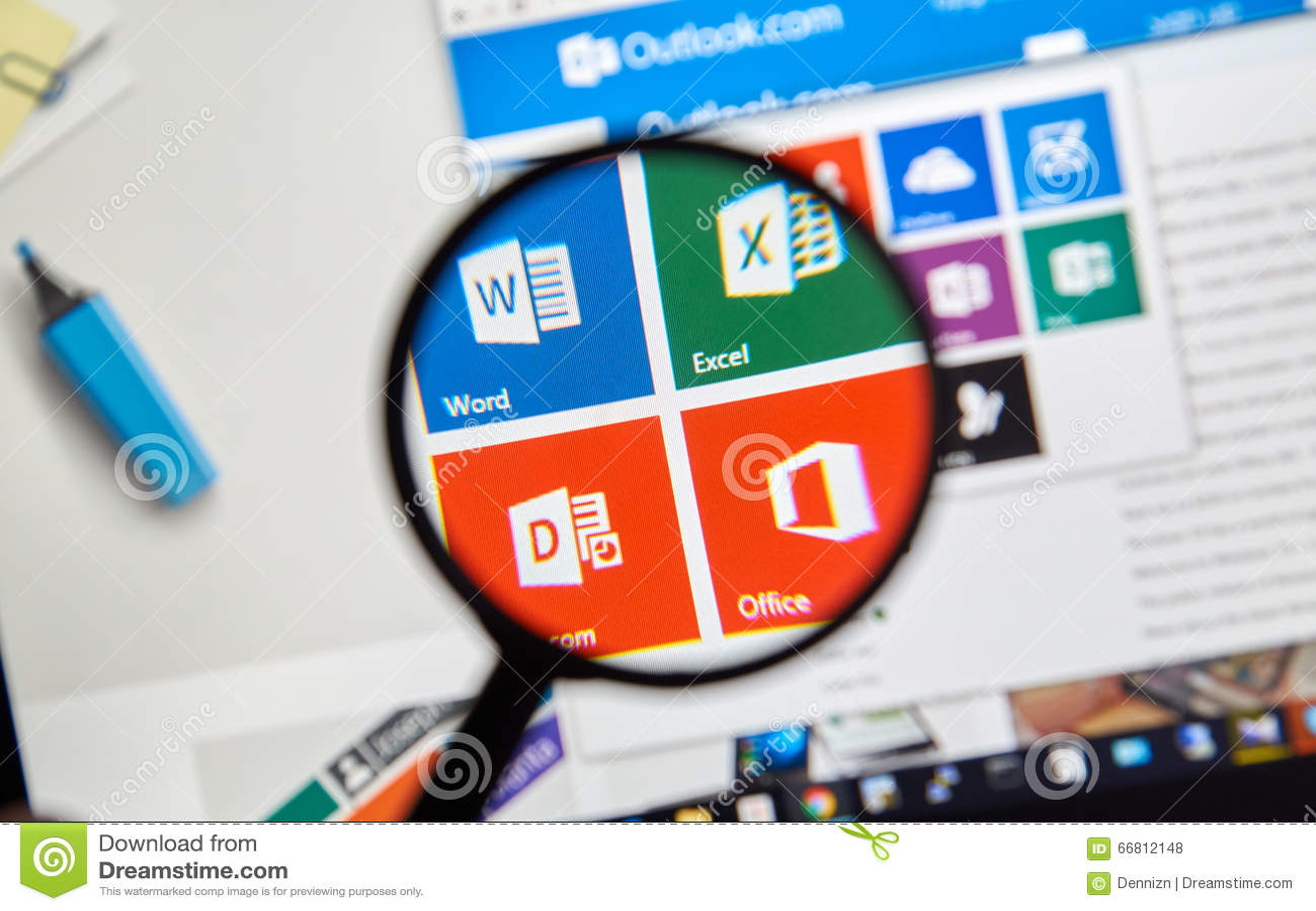 Microsoft Office słowo, Excel