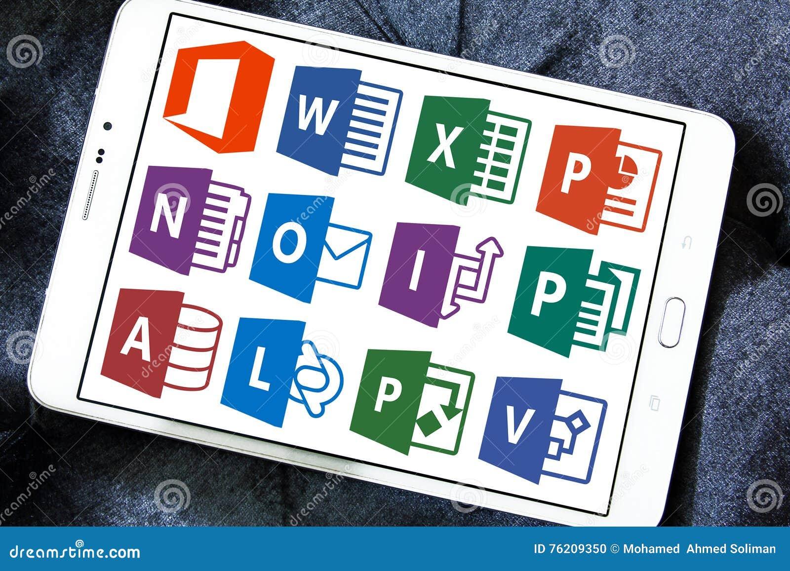Microsoft Office słowo, przoduje, Powerpoint